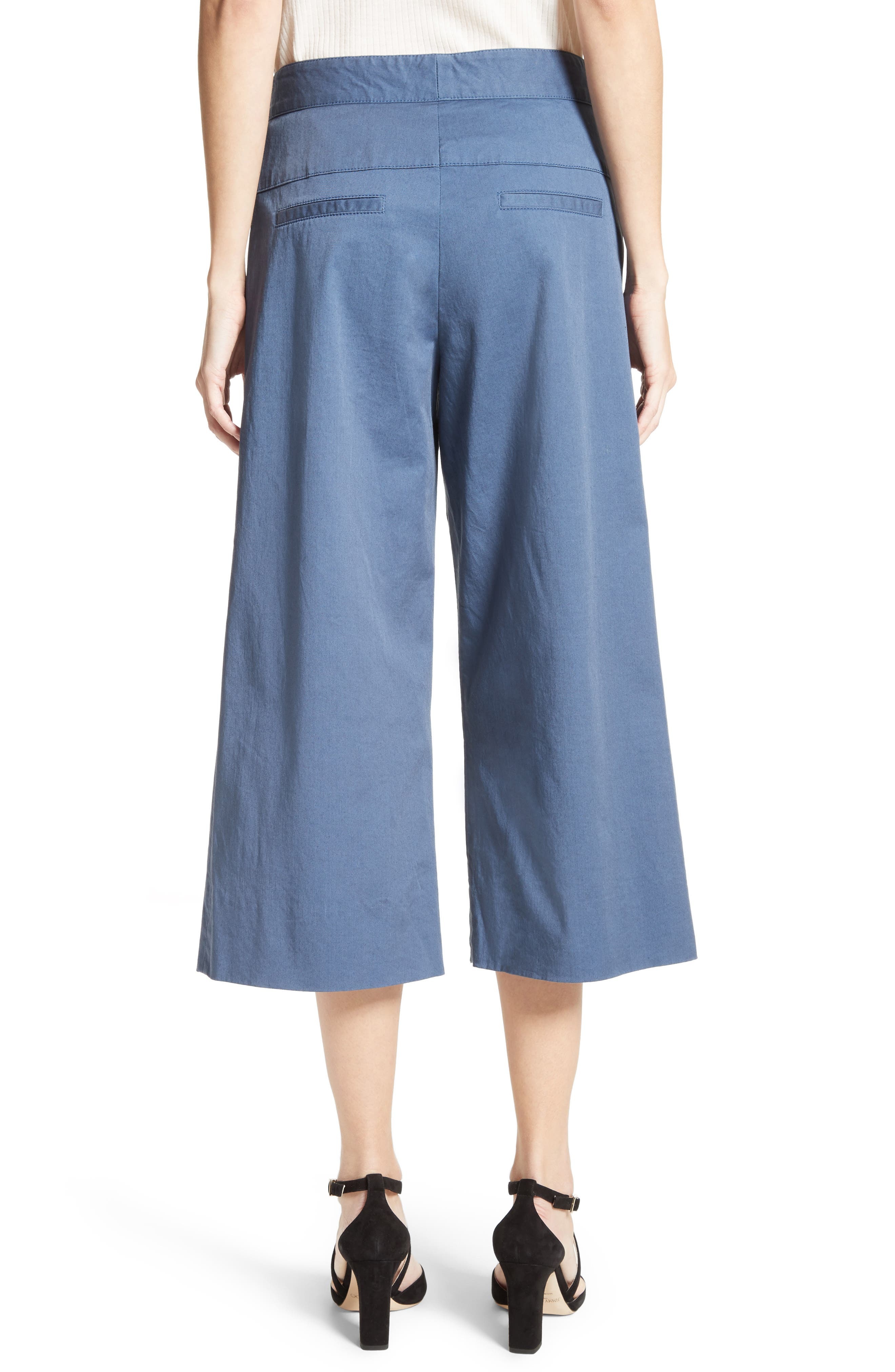 Cheyenne Wide Leg Crop Pants,                             Alternate thumbnail 2, color,                             438