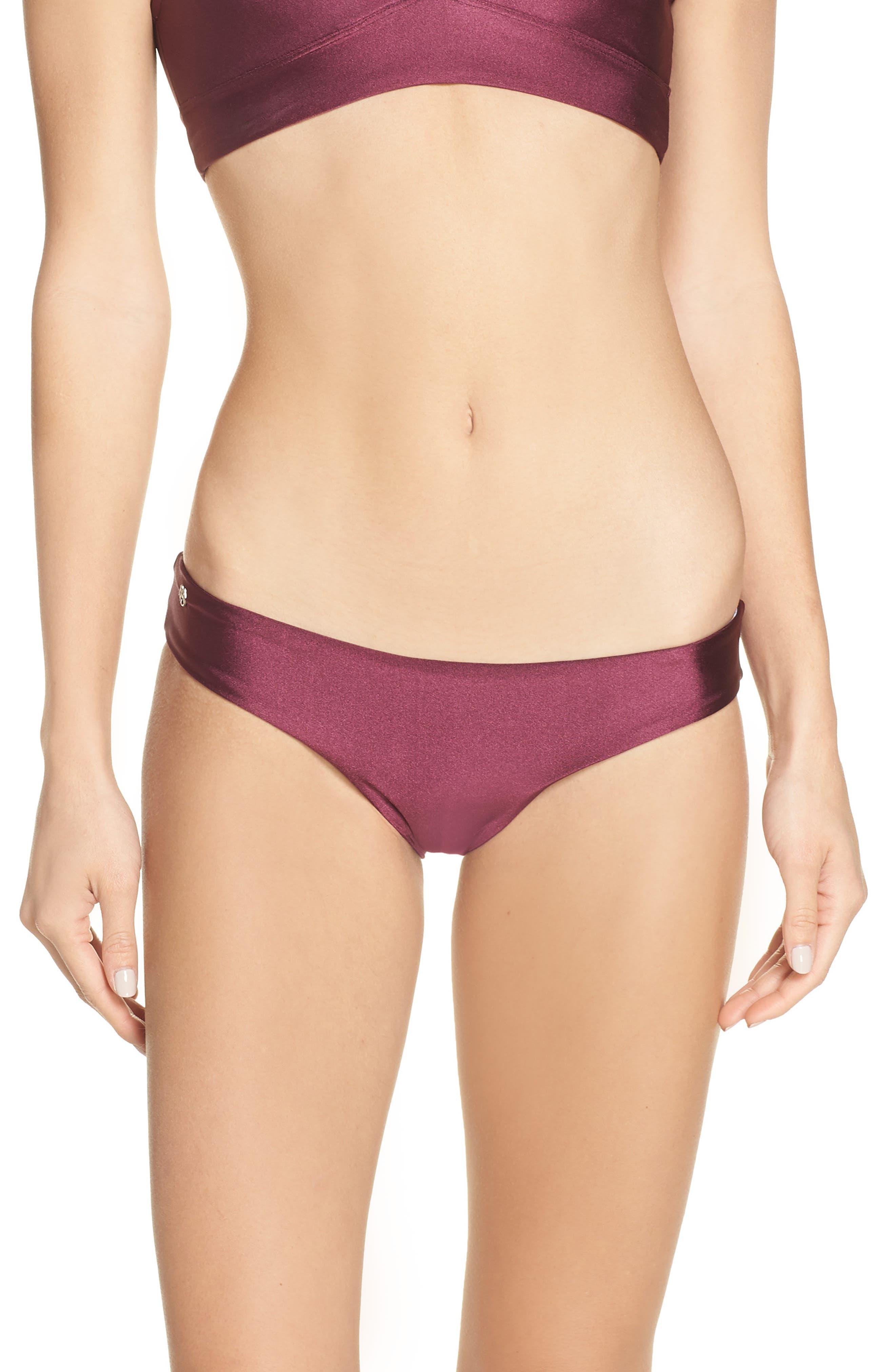 Beach Plum Sublime Reversible Bikini Bottoms, Main, color, BEACH PLUM