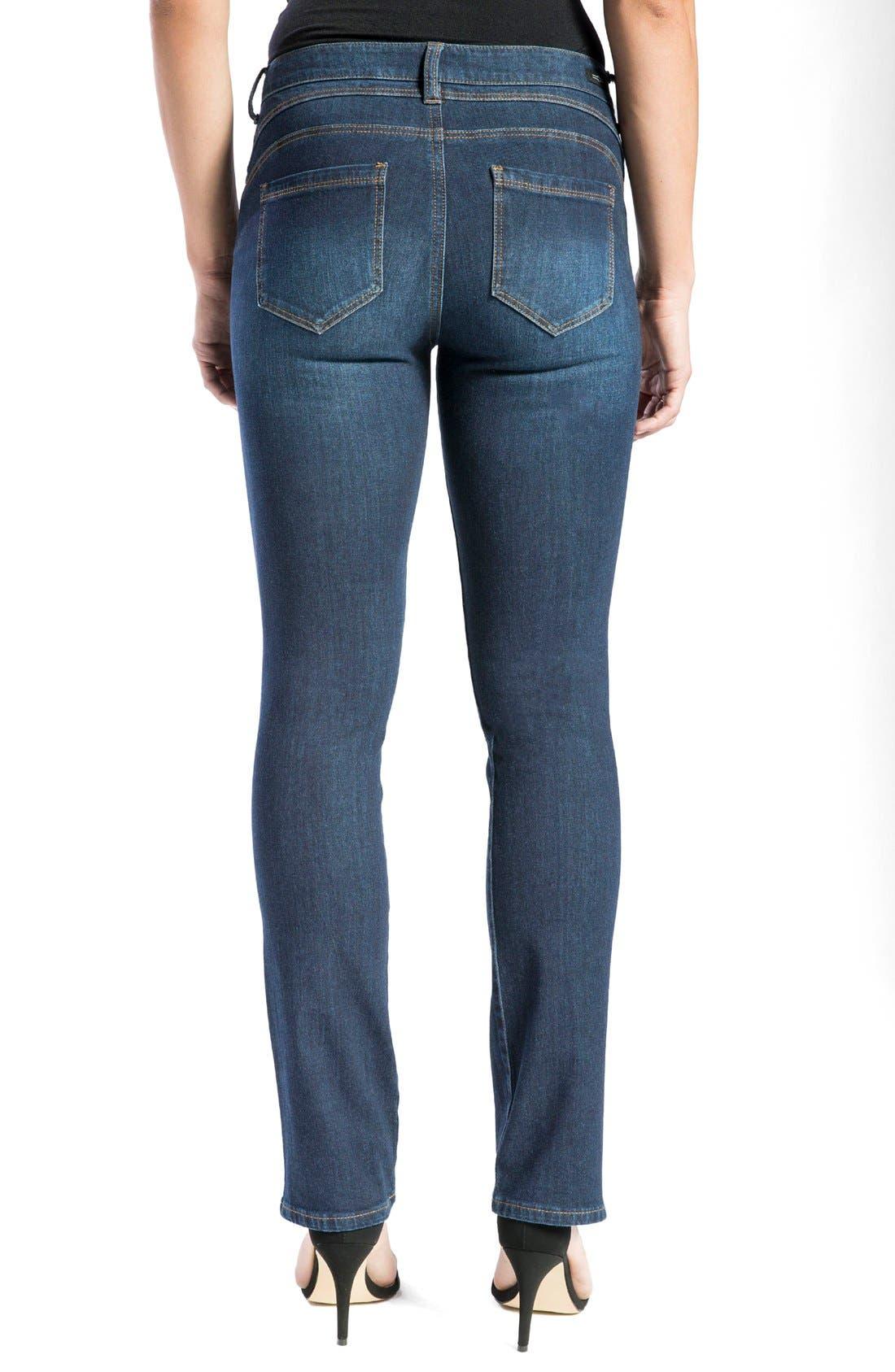 Remy - Hugger Straight Leg Jeans,                             Alternate thumbnail 2, color,                             401