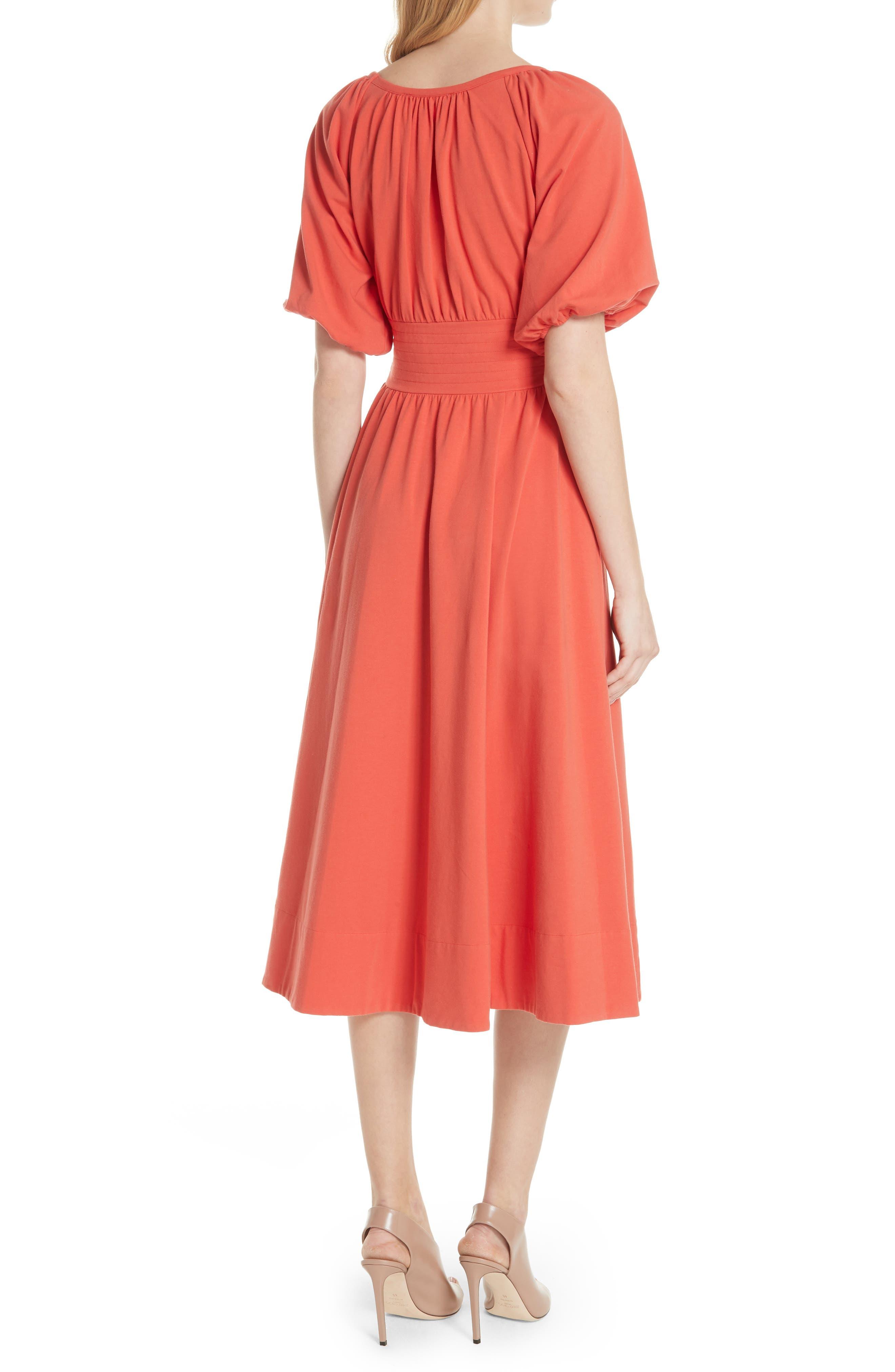 Corseted Peasant Dress,                             Alternate thumbnail 2, color,                             950