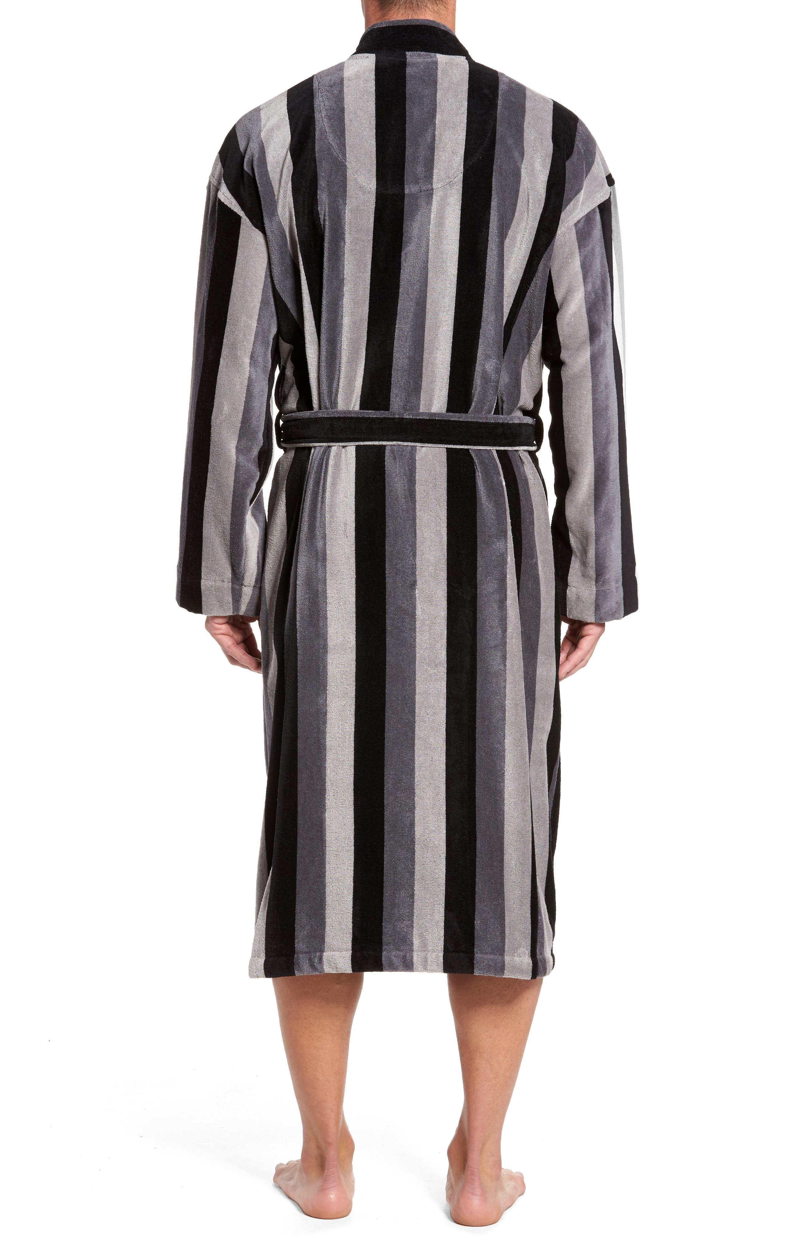 Remarkavelour Robe,                             Alternate thumbnail 2, color,                             001