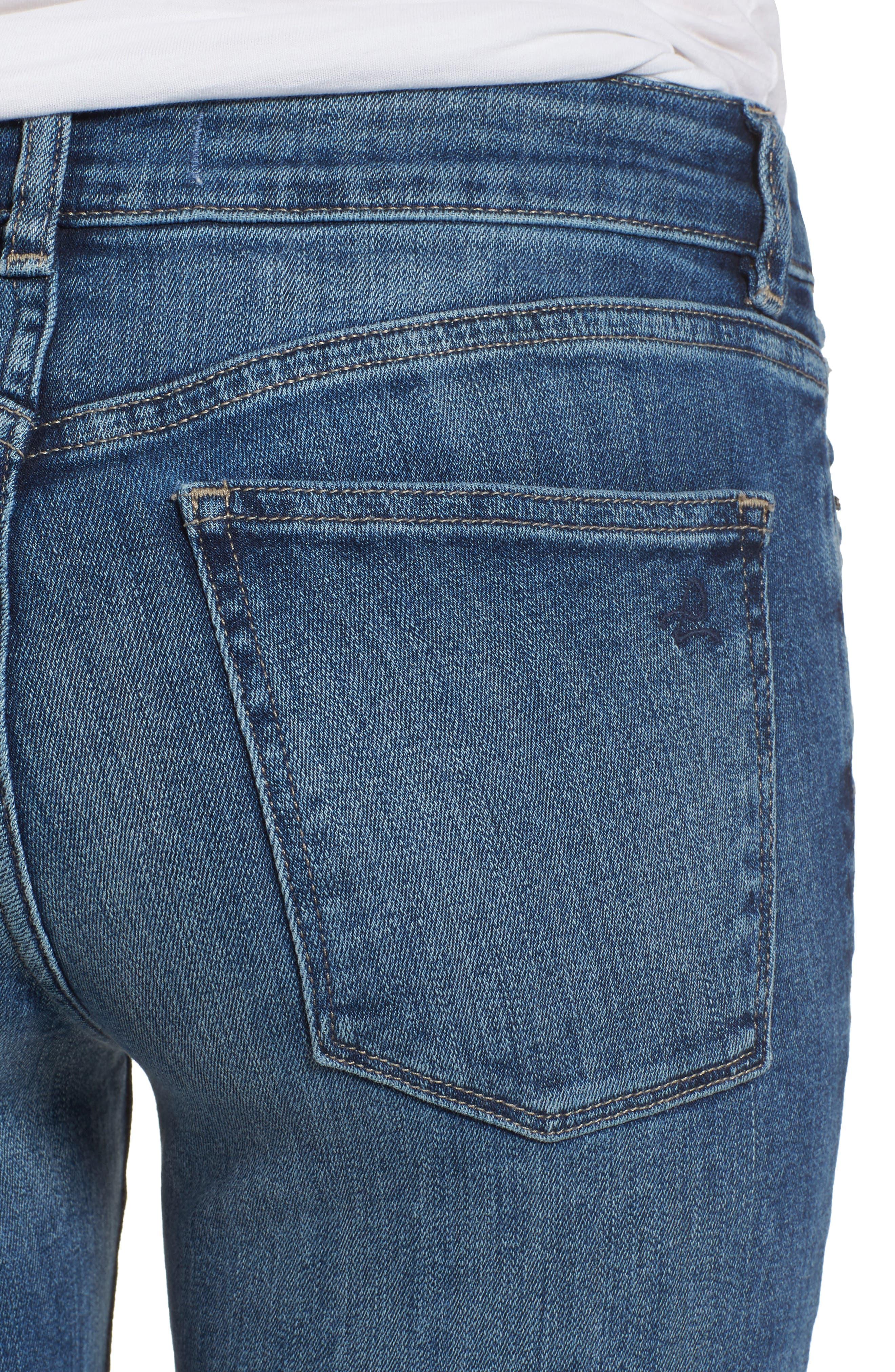 Florence Instasculpt Skinny Jeans,                             Alternate thumbnail 4, color,                             405