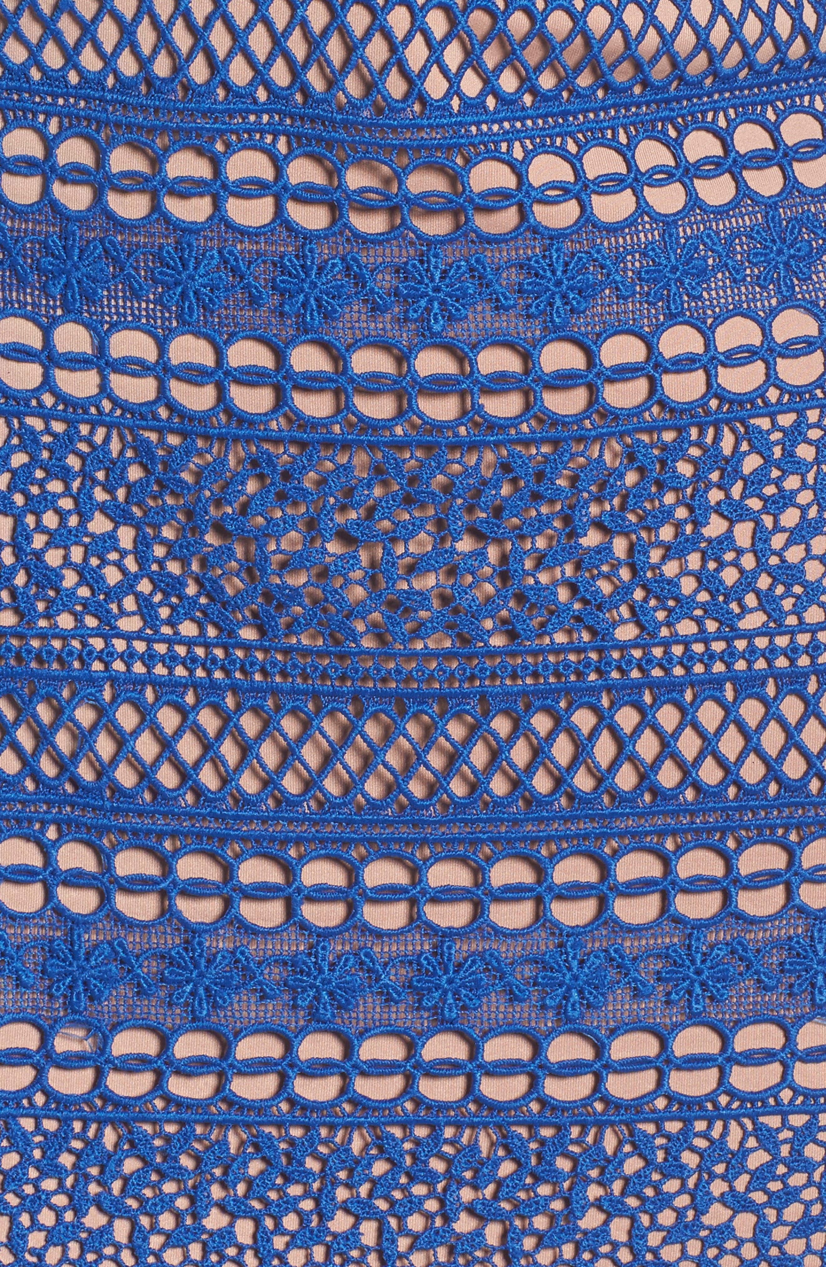 Catalina Eyelet Off the Shoulder Dress,                             Alternate thumbnail 5, color,