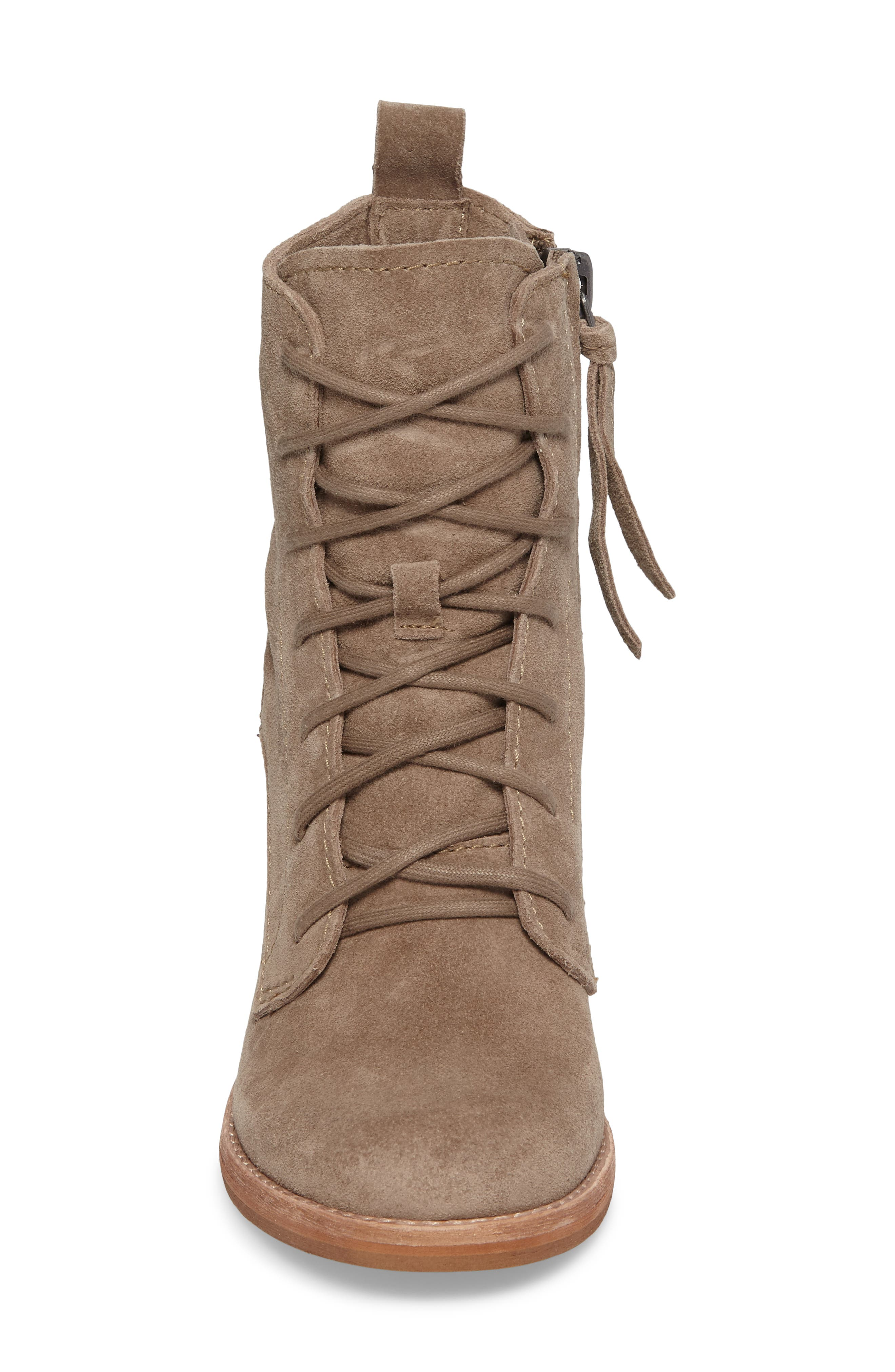 Rowly Lace-Up Bootie,                             Alternate thumbnail 8, color,