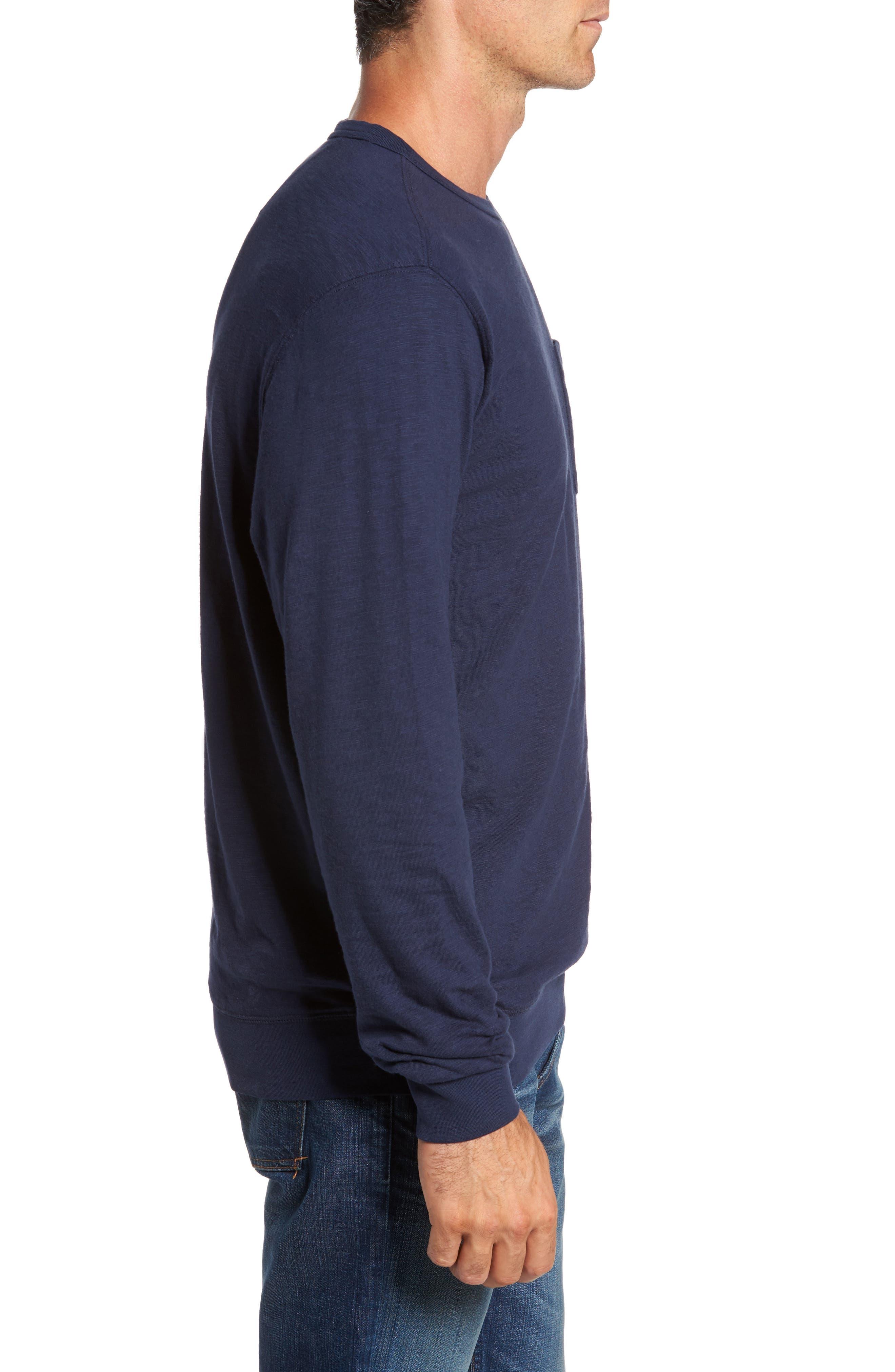 Montford Slub Pocket T-Shirt,                             Alternate thumbnail 3, color,                             408