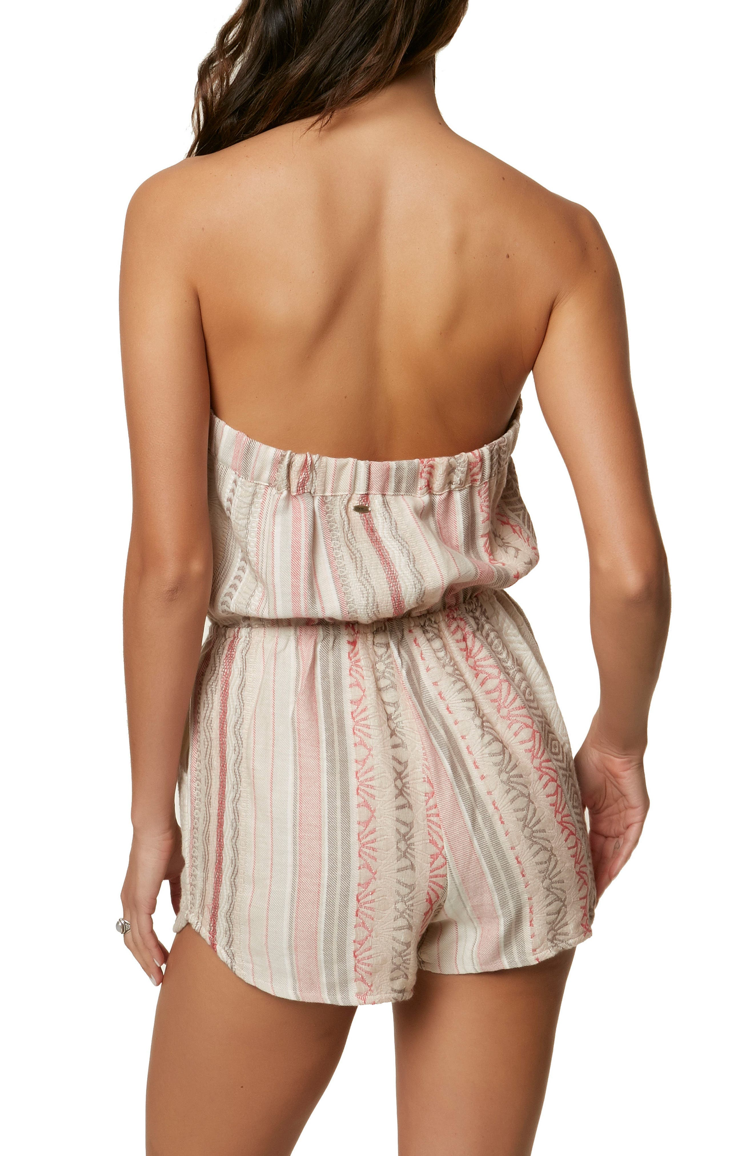 Shayla Strapless Romper,                             Alternate thumbnail 2, color,                             103