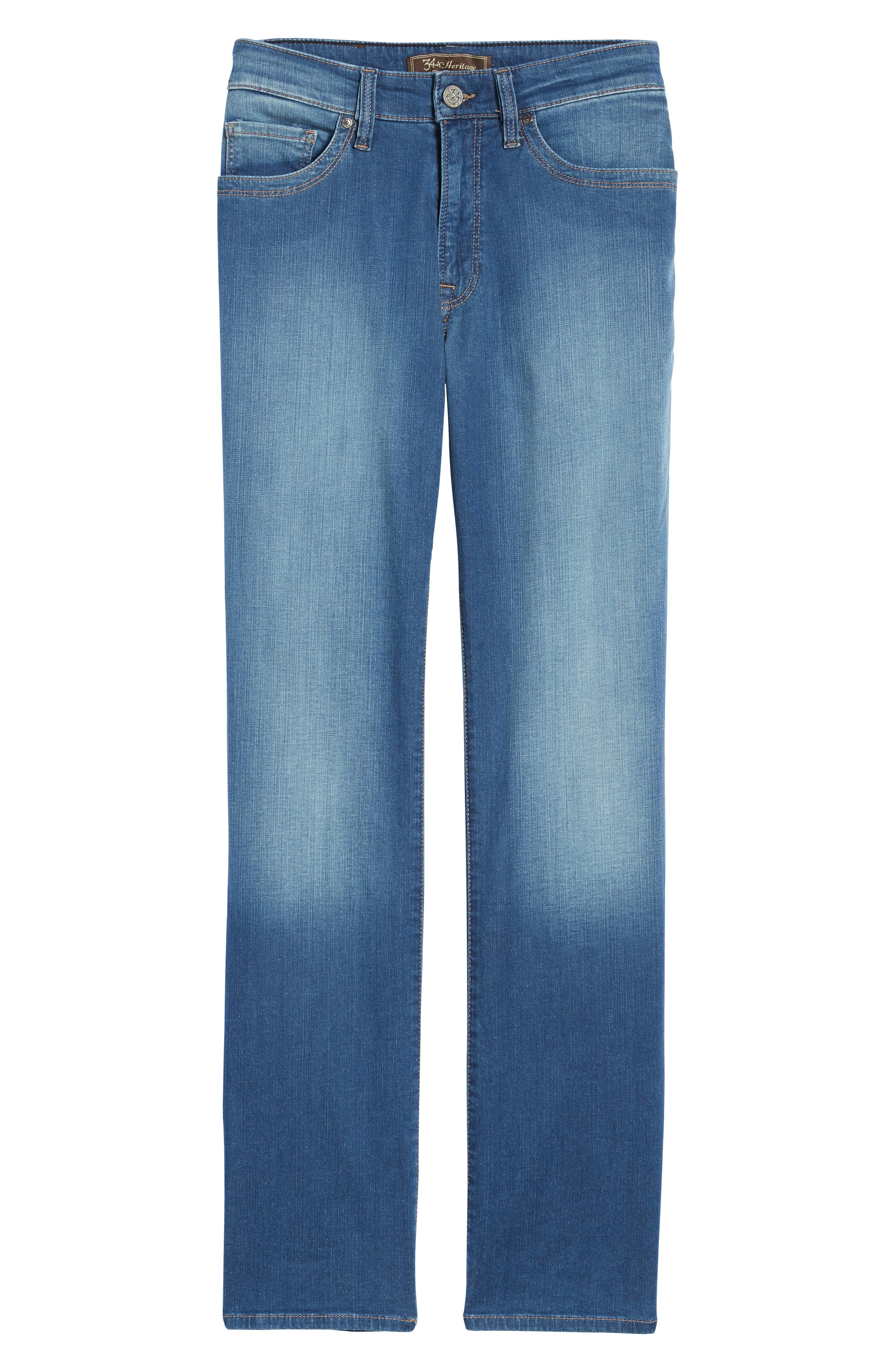 34 HERITAGE,                             'Charisma' Classic Relaxed Fit Jeans,                             Alternate thumbnail 7, color,                             MID CASHMERE