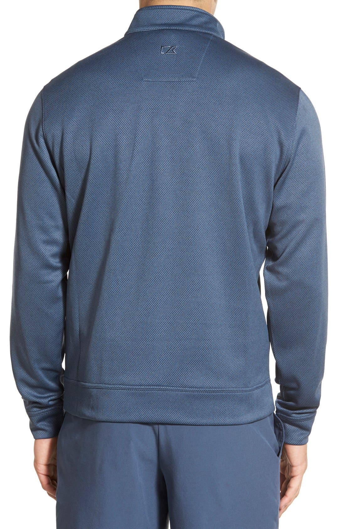'Weather Tec Orbit' Half Zip Pullover,                             Alternate thumbnail 5, color,                             015