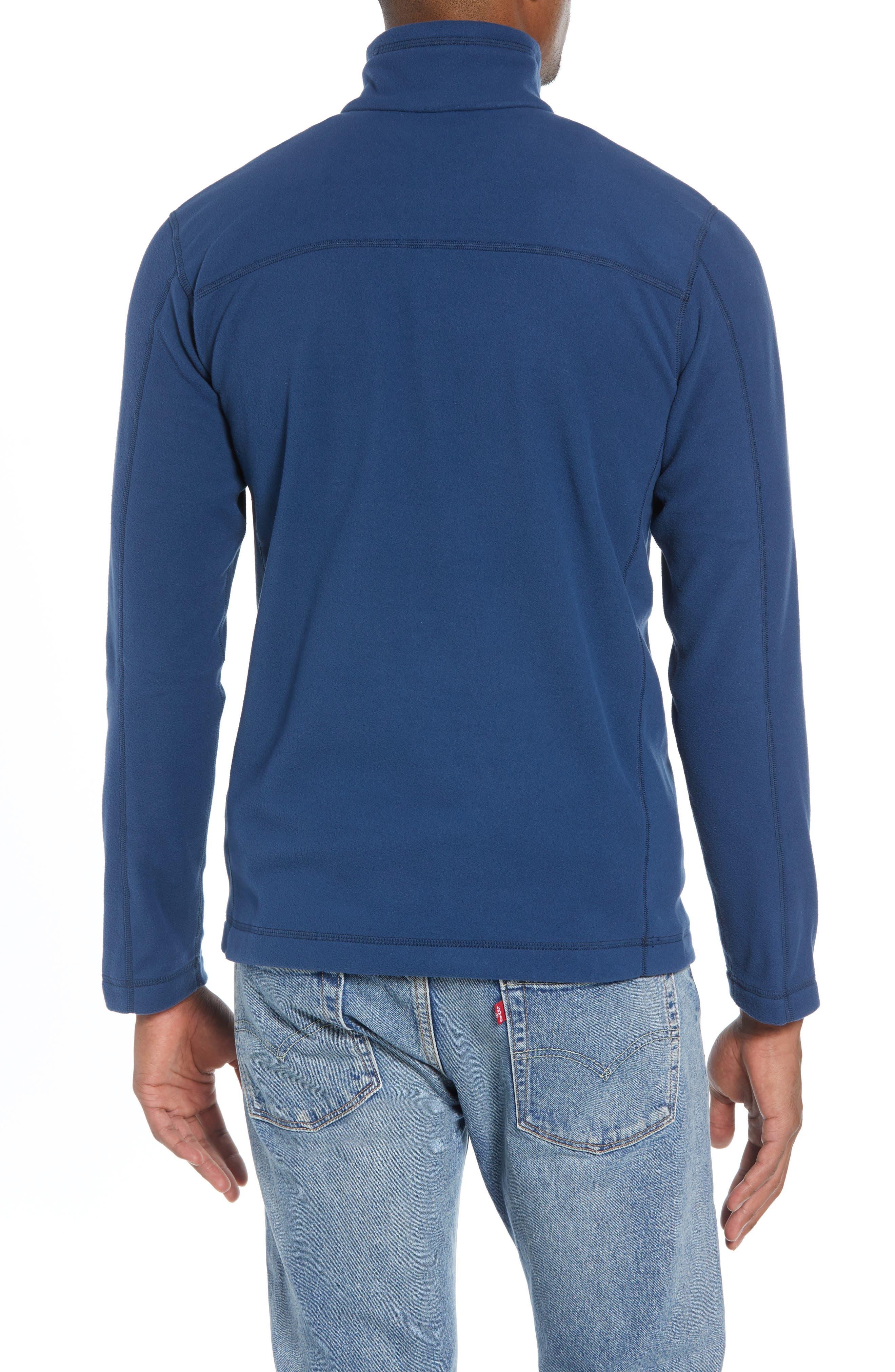 Fleece Pullover,                             Alternate thumbnail 2, color,                             STONE BLUE