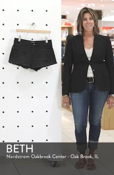 Fray Hem Denim Shorts, sales video thumbnail