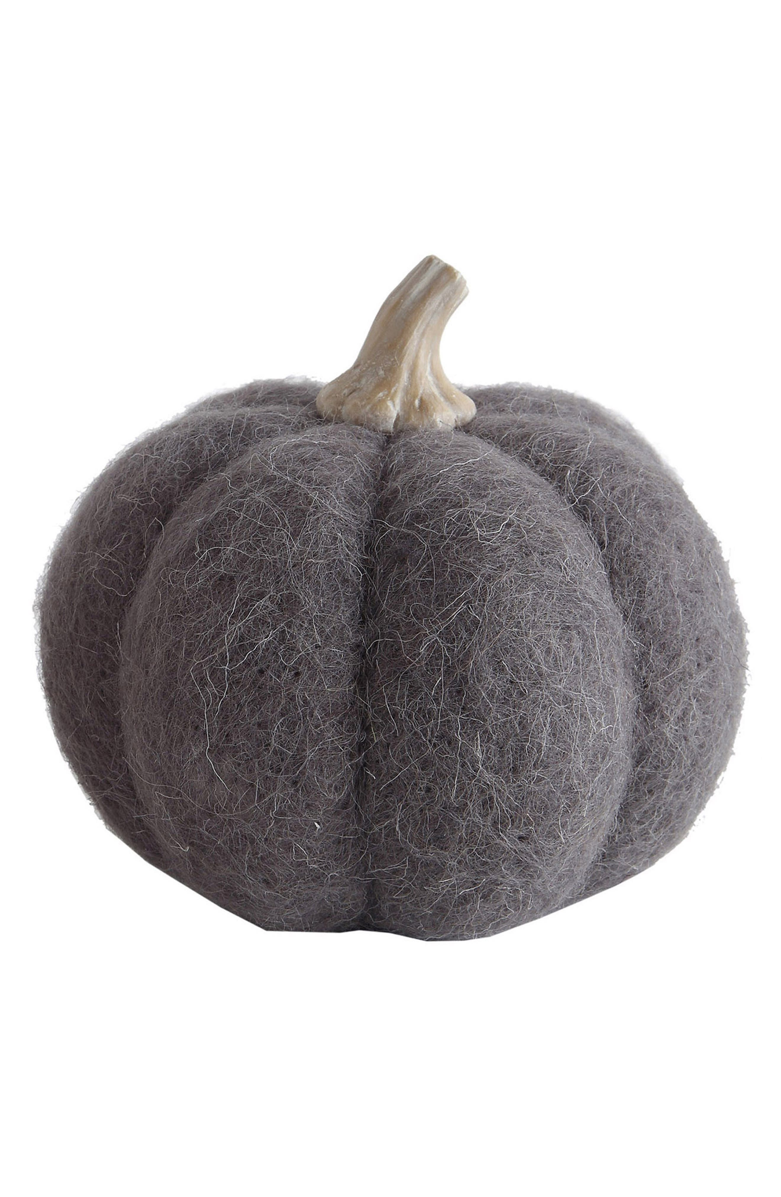 Wool Pumpkin,                             Main thumbnail 1, color,                             GRAY