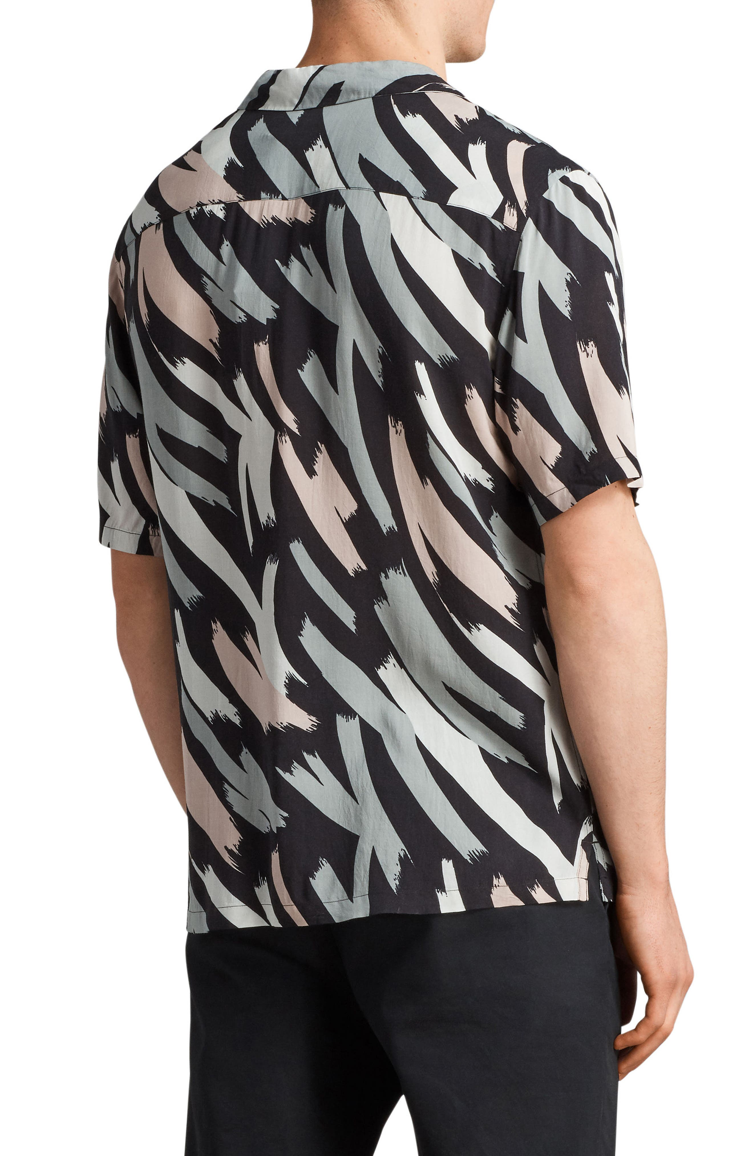 Koloa Slim Fit Short Sleeve Sport Shirt,                             Alternate thumbnail 2, color,                             008