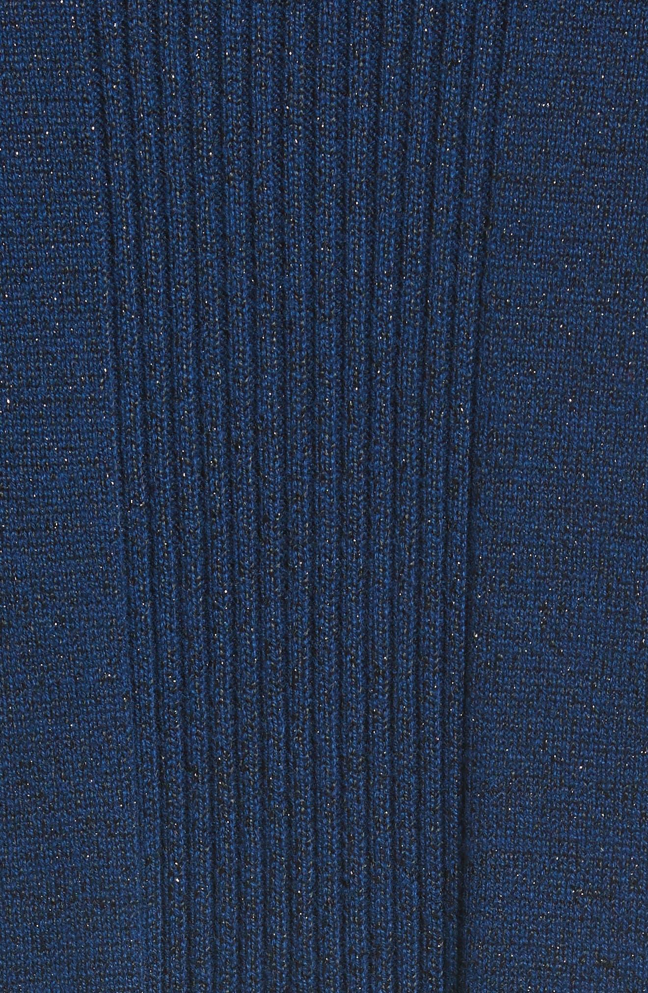 Jersey Cashmere Blend Sparkle Knit Jacket,                             Alternate thumbnail 6, color,                             410