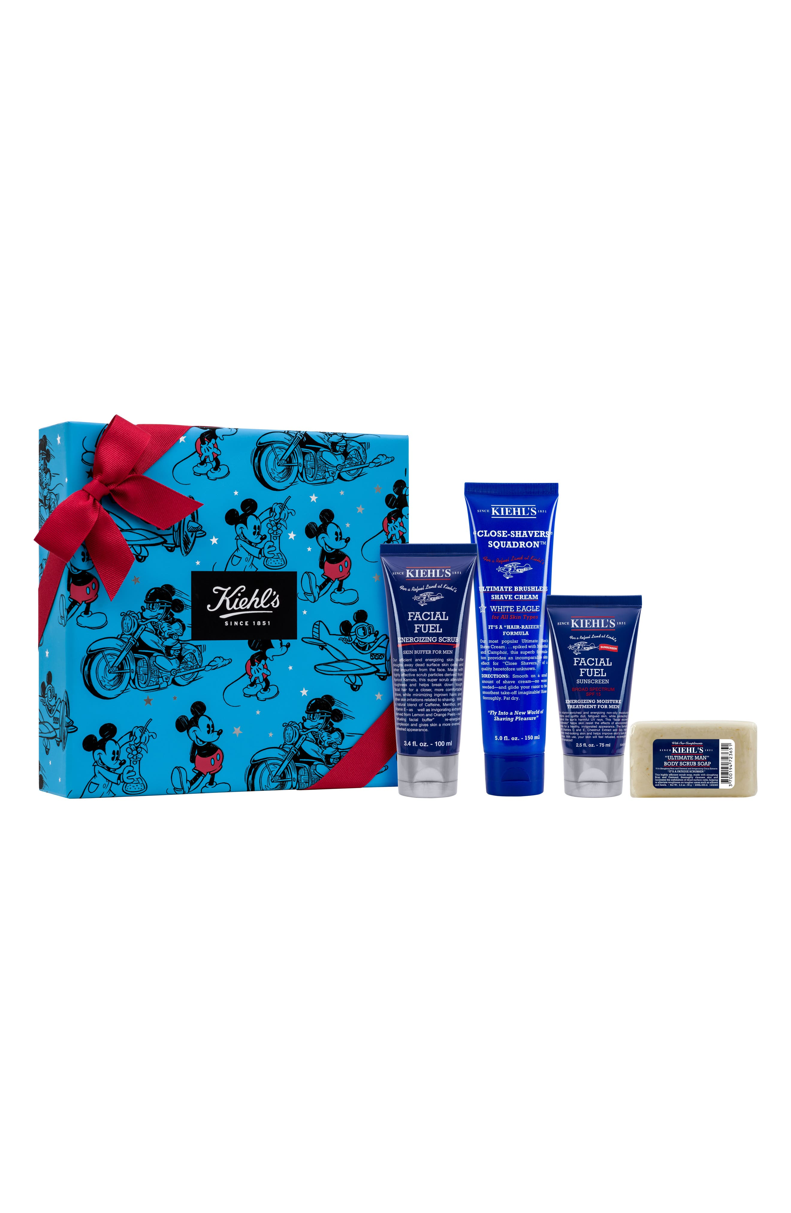 Disney x Kiehl's Since 1851 Ultimate Man Refueling Set,                         Main,                         color, 000