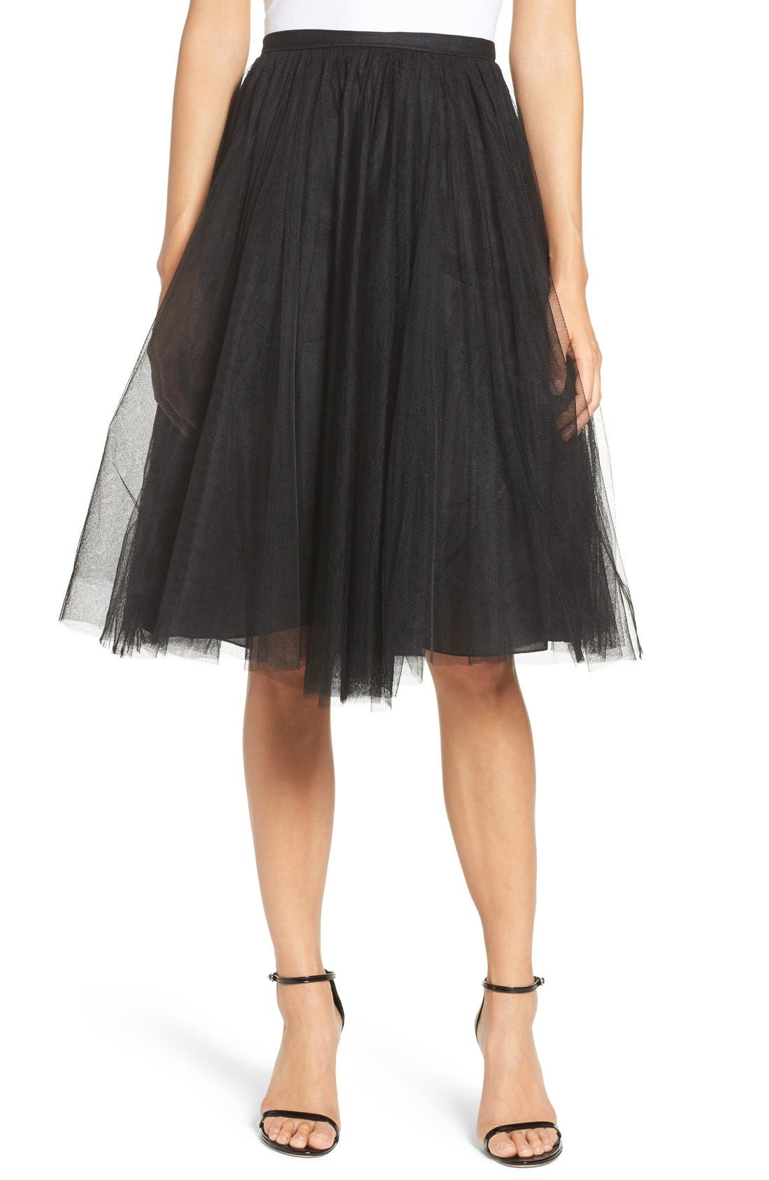 Lucy Tulle Skirt,                         Main,                         color,
