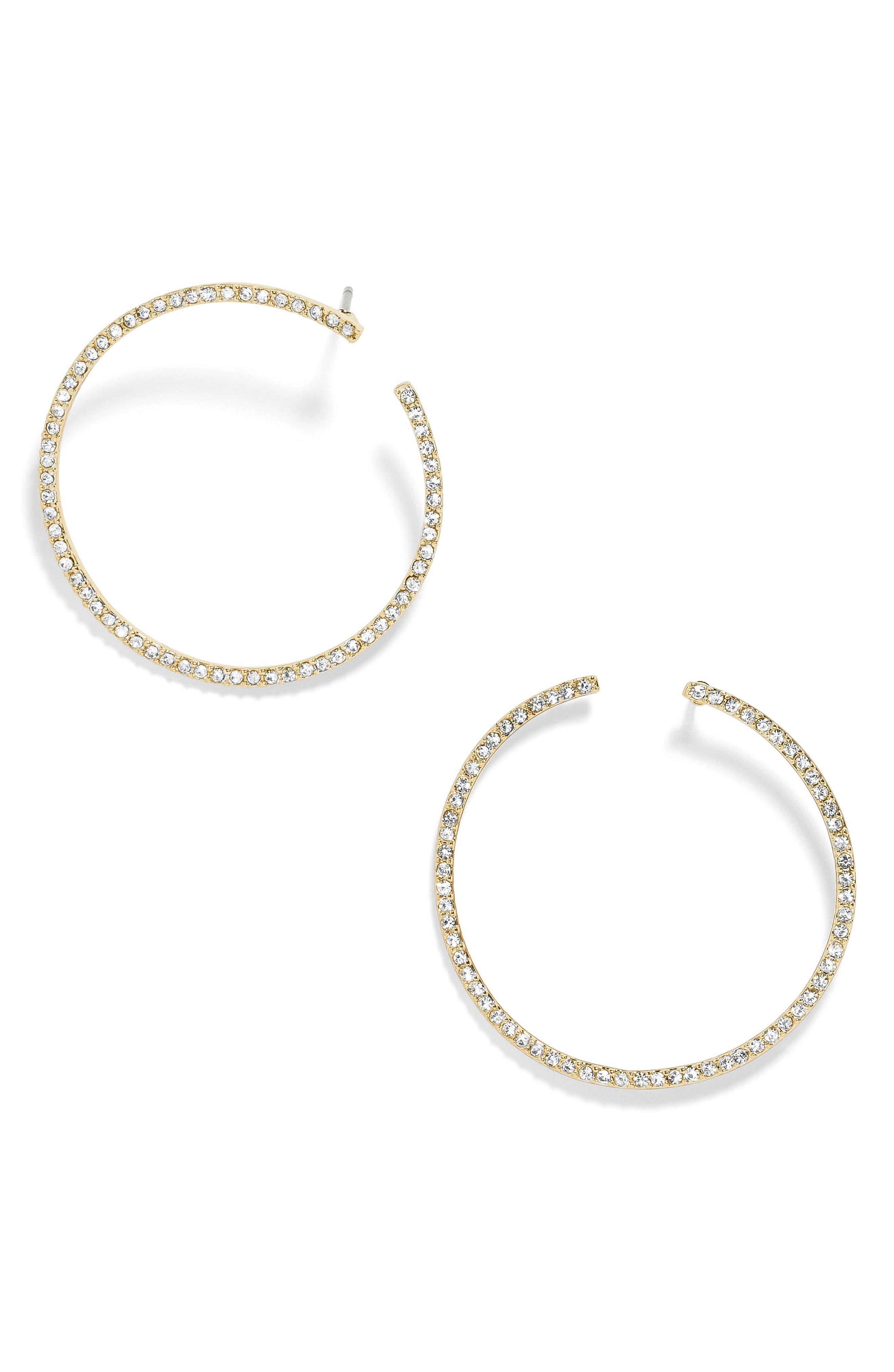 Olivia Hoop Earrings,                             Main thumbnail 1, color,                             710