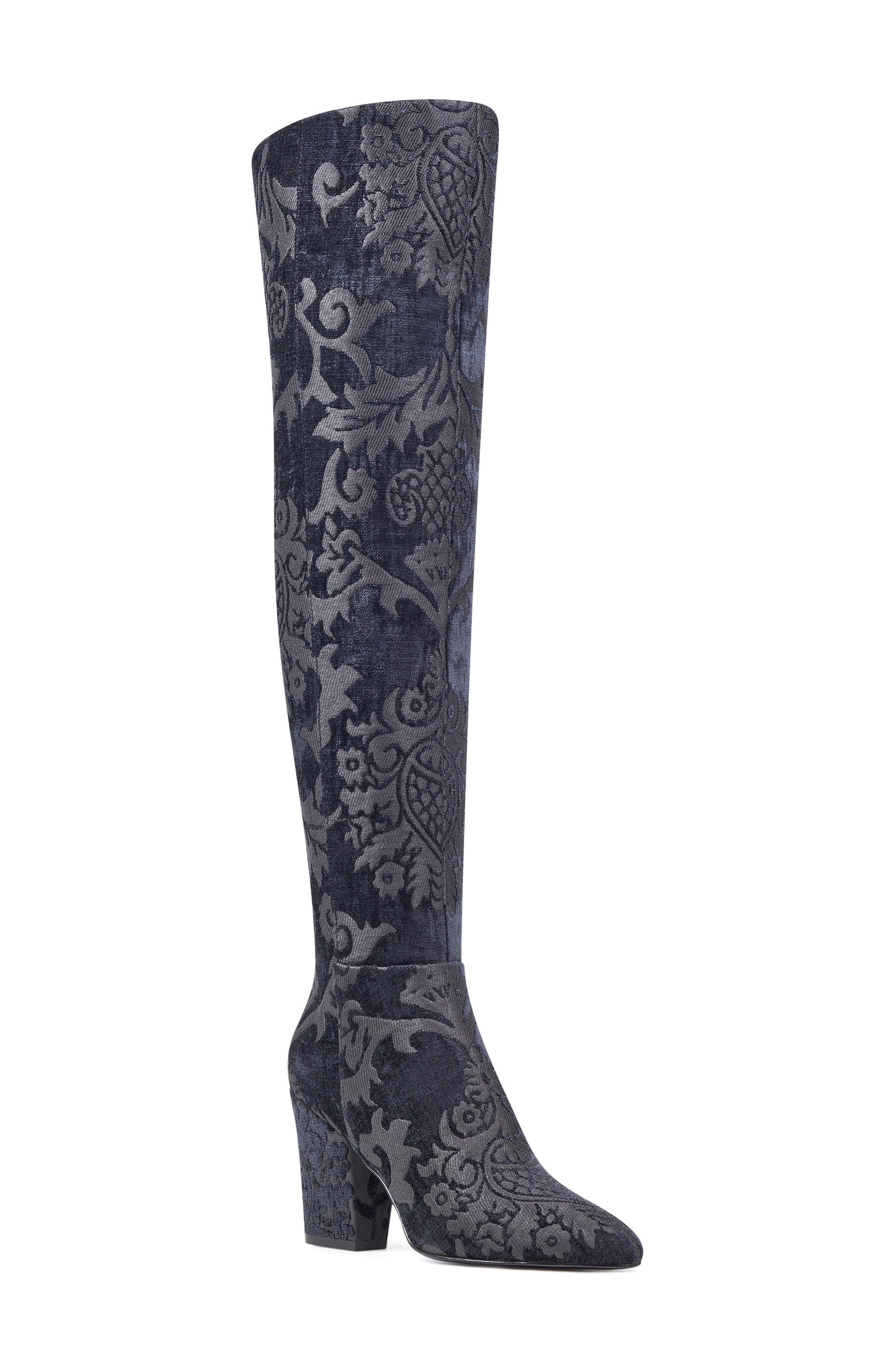 Siventa Over the Knee Boot,                             Main thumbnail 1, color,                             001