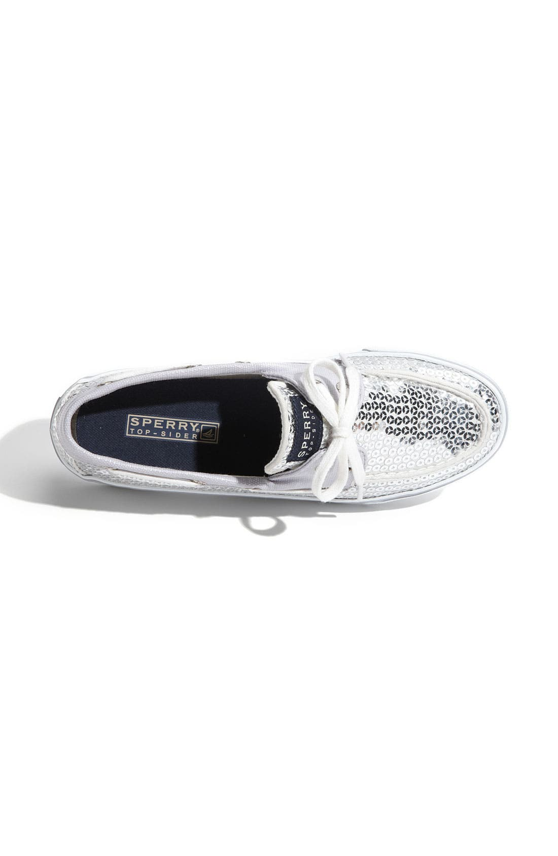 Top-Sider<sup>®</sup> 'Bahama' Sequined Boat Shoe,                             Alternate thumbnail 55, color,