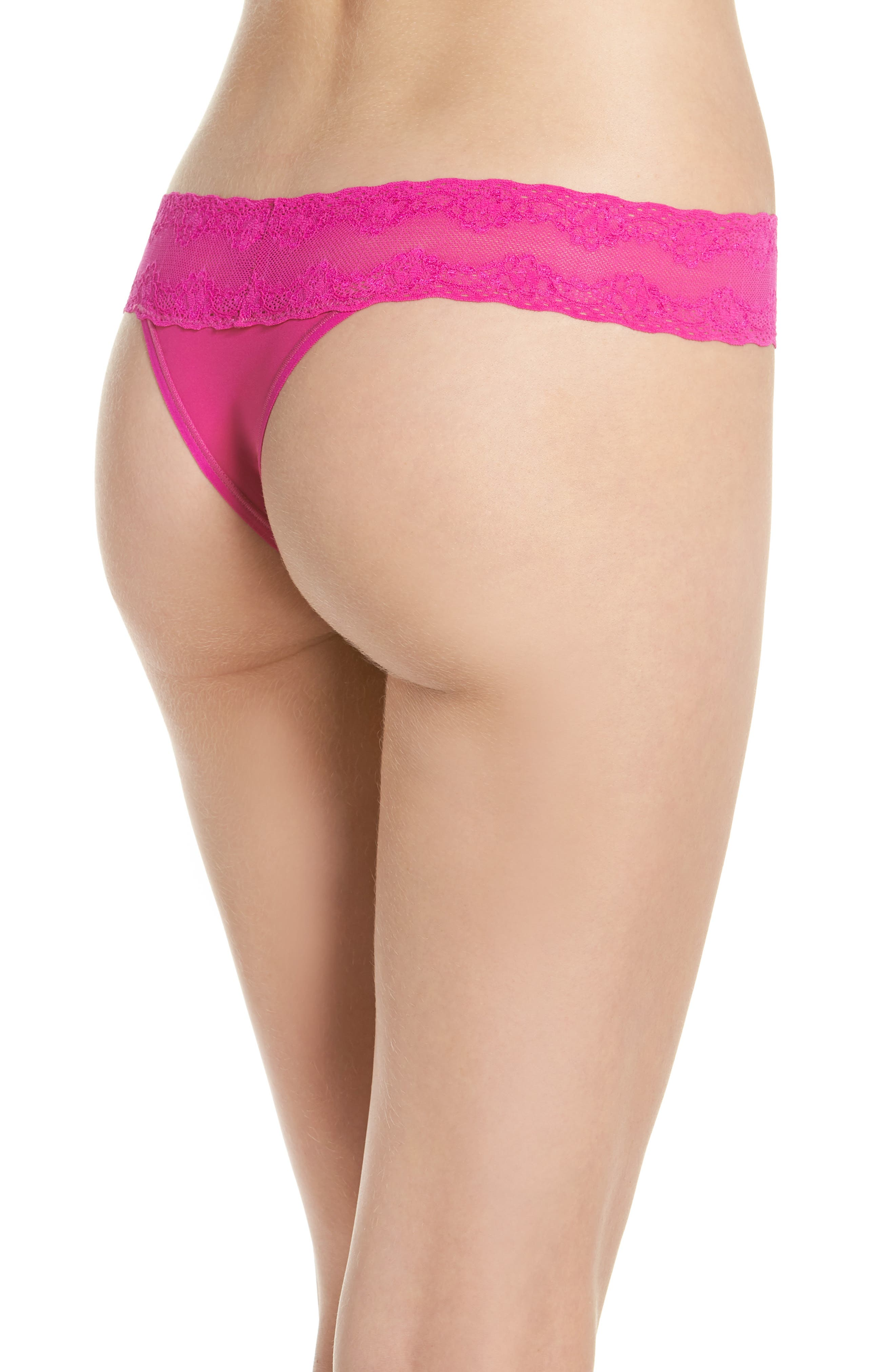 Bliss Perfection Thong,                             Alternate thumbnail 134, color,