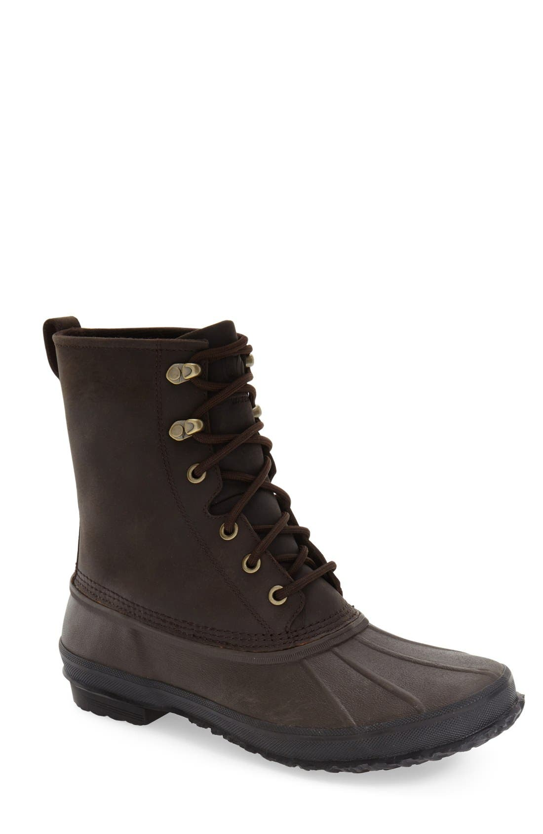 UGG<SUP>®</SUP>,                             Yucca Waterproof Rain Boot,                             Main thumbnail 1, color,                             STOUT