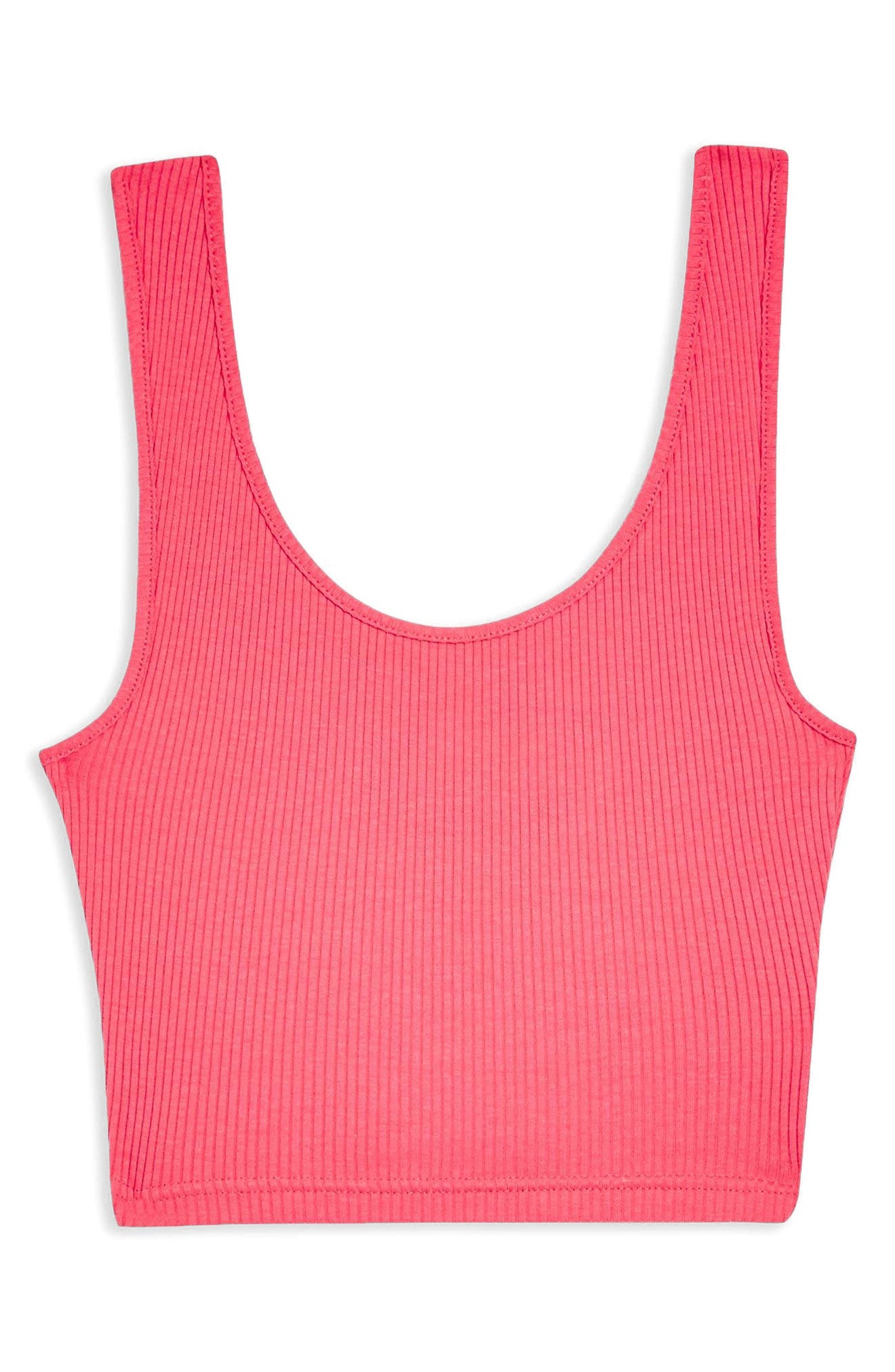 Strappy Scoopback Crop Tank,                             Alternate thumbnail 9, color,