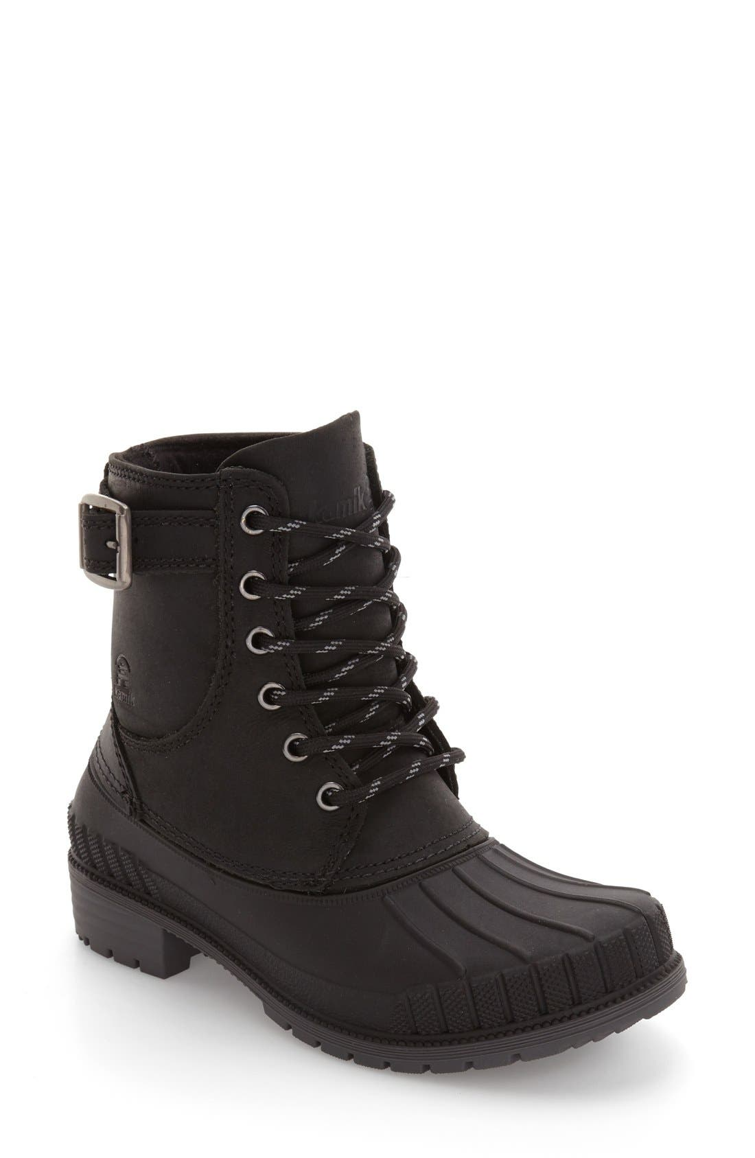 Evelyn Waterproof Boot,                         Main,                         color, 010