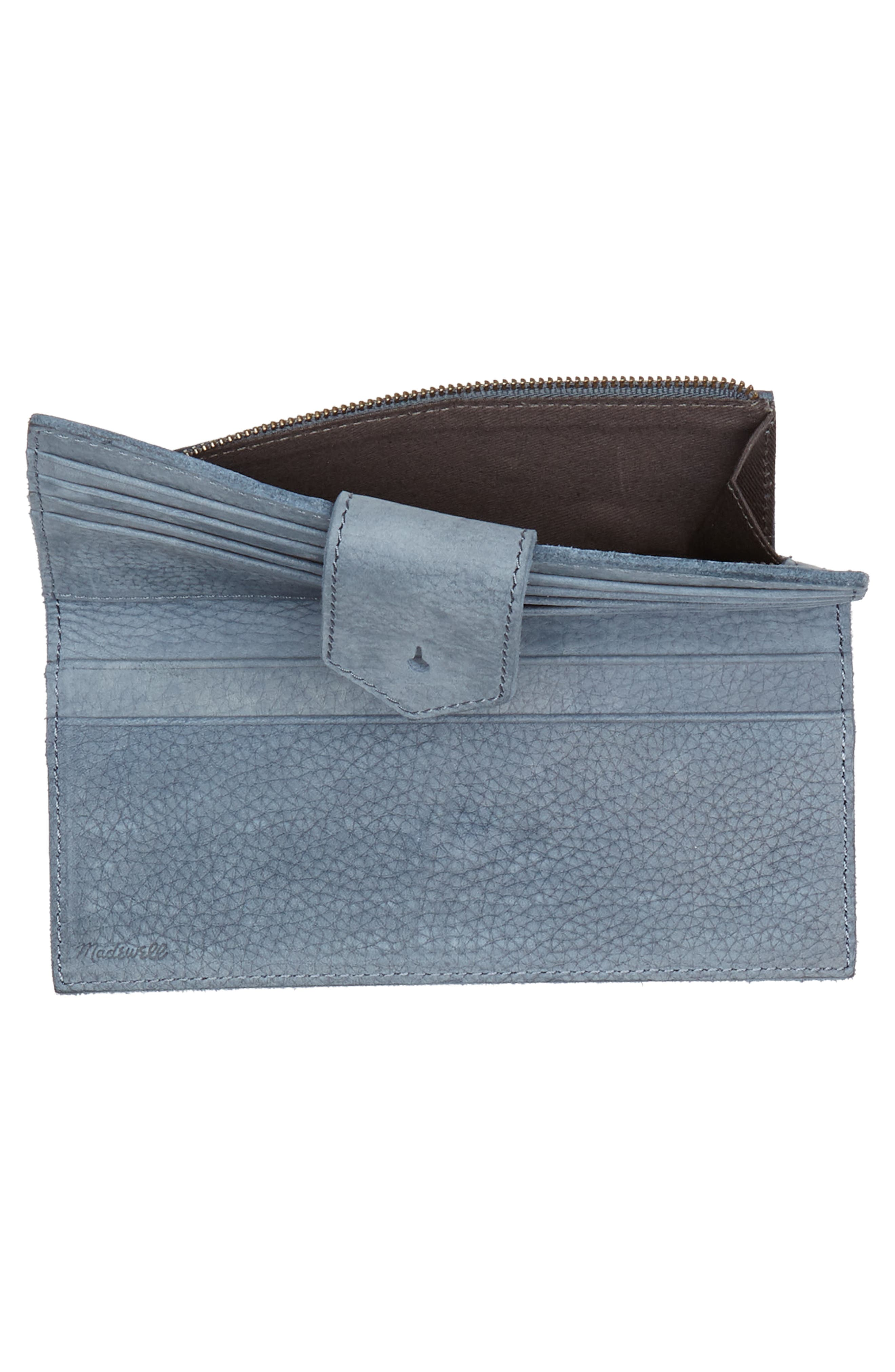 The Post Nubuck Wallet,                             Alternate thumbnail 4, color,                             400