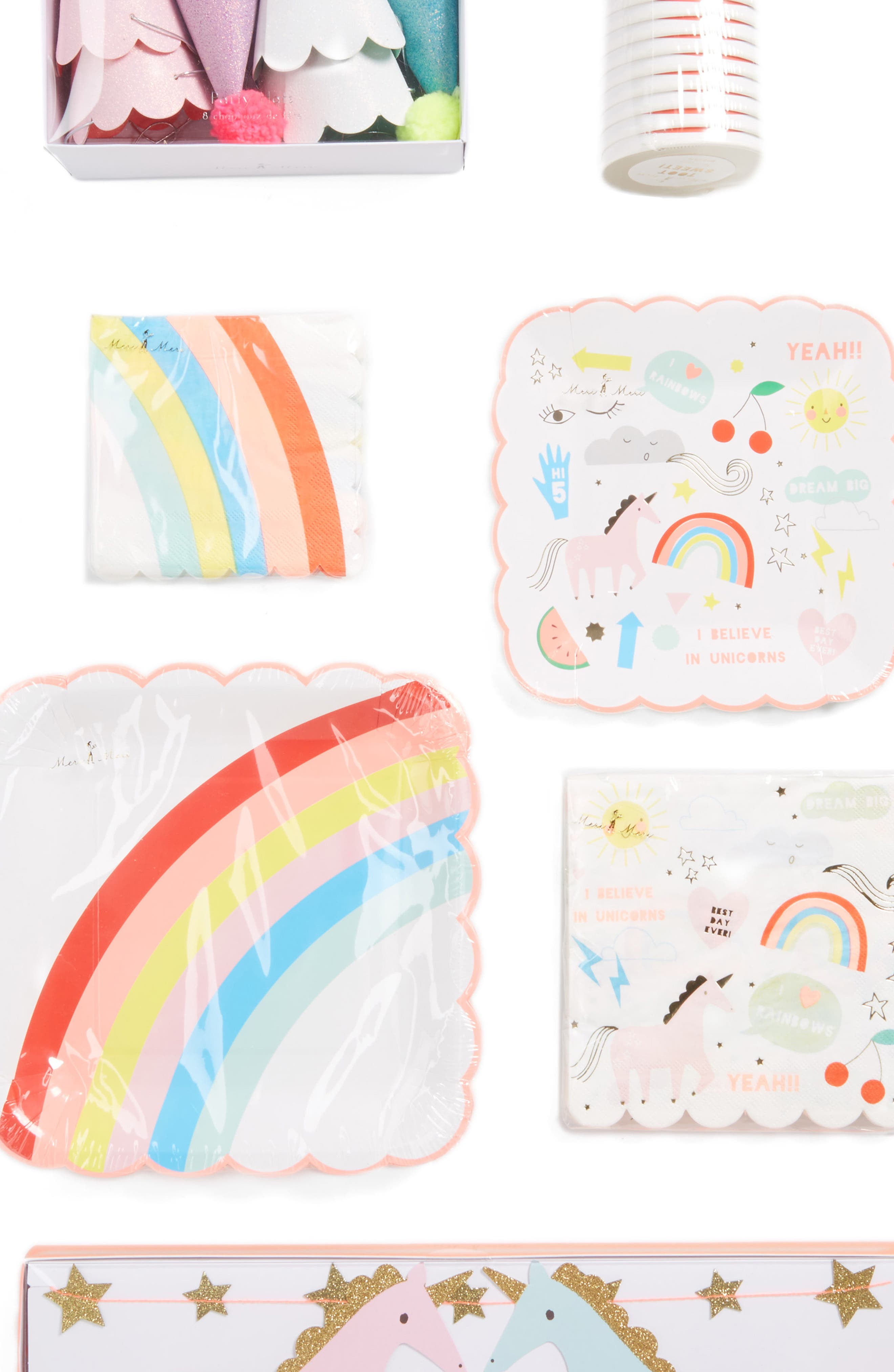 Unicorn Party Bundle Kit,                             Alternate thumbnail 2, color,                             100