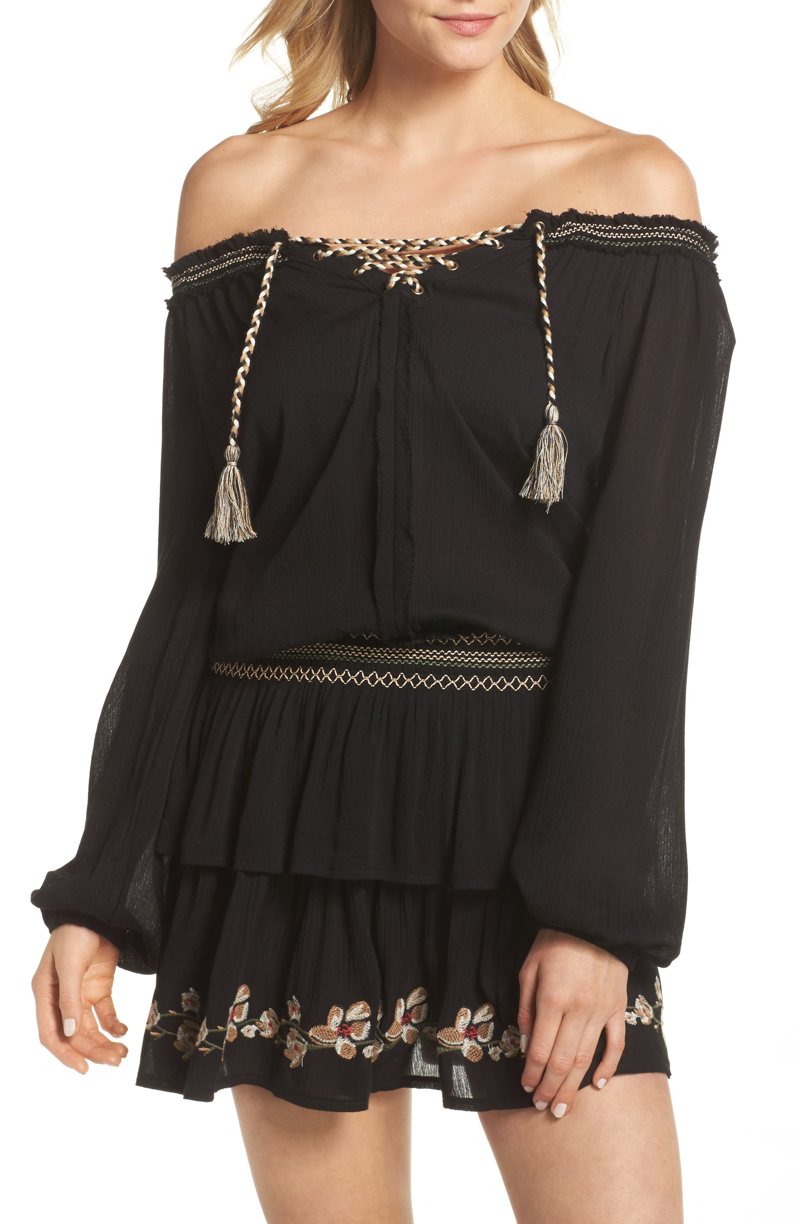 Cover-Up Dress,                         Main,                         color, 001