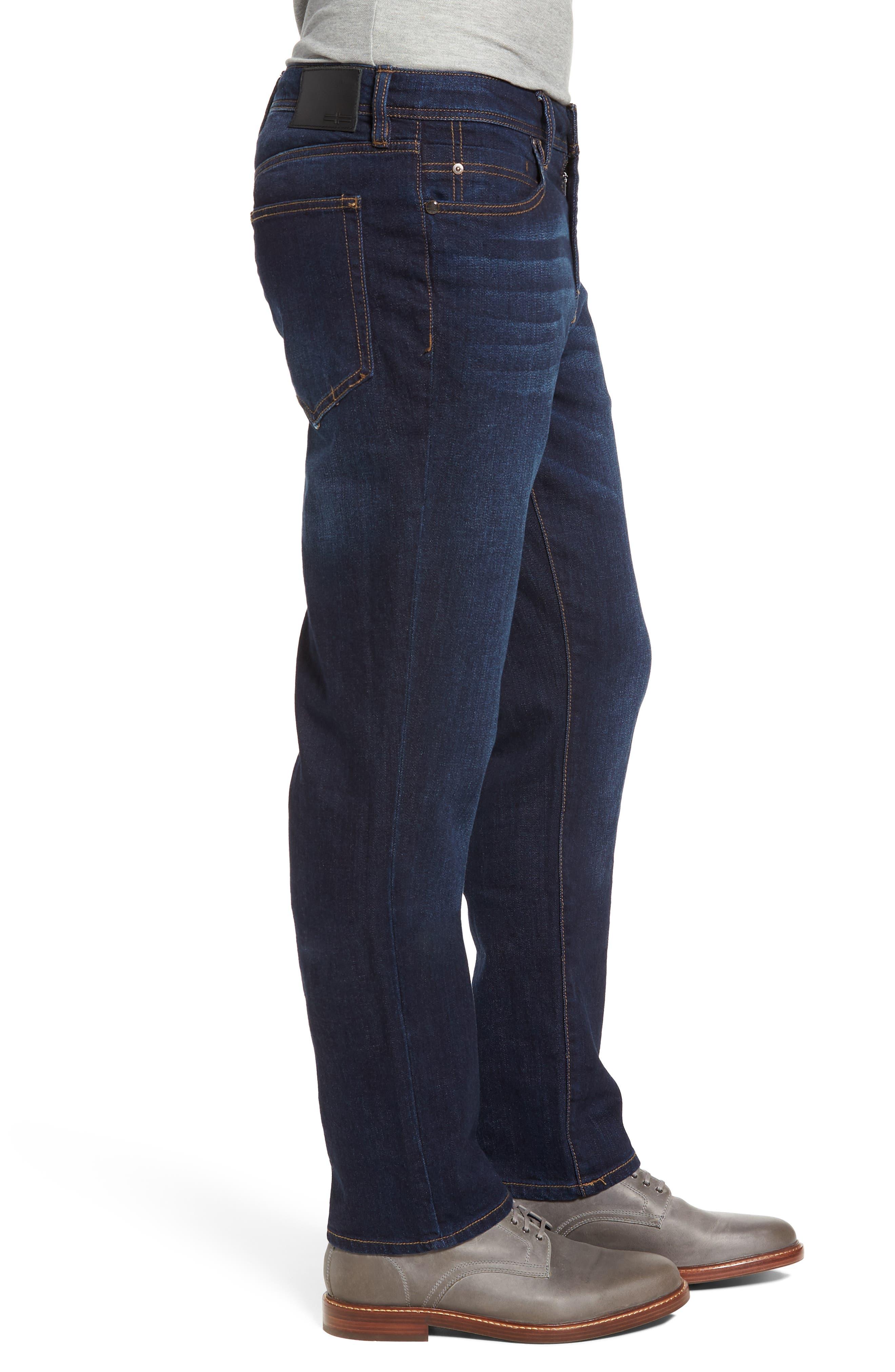 Jeans Co. Regent Relaxed Fit Jeans,                             Alternate thumbnail 3, color,                             SAN ARDO VINTAGE DARK
