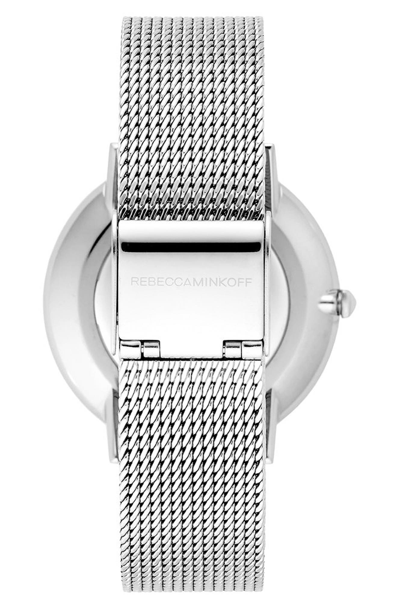 Major Mesh Strap Watch, 35mm,                             Alternate thumbnail 6, color,
