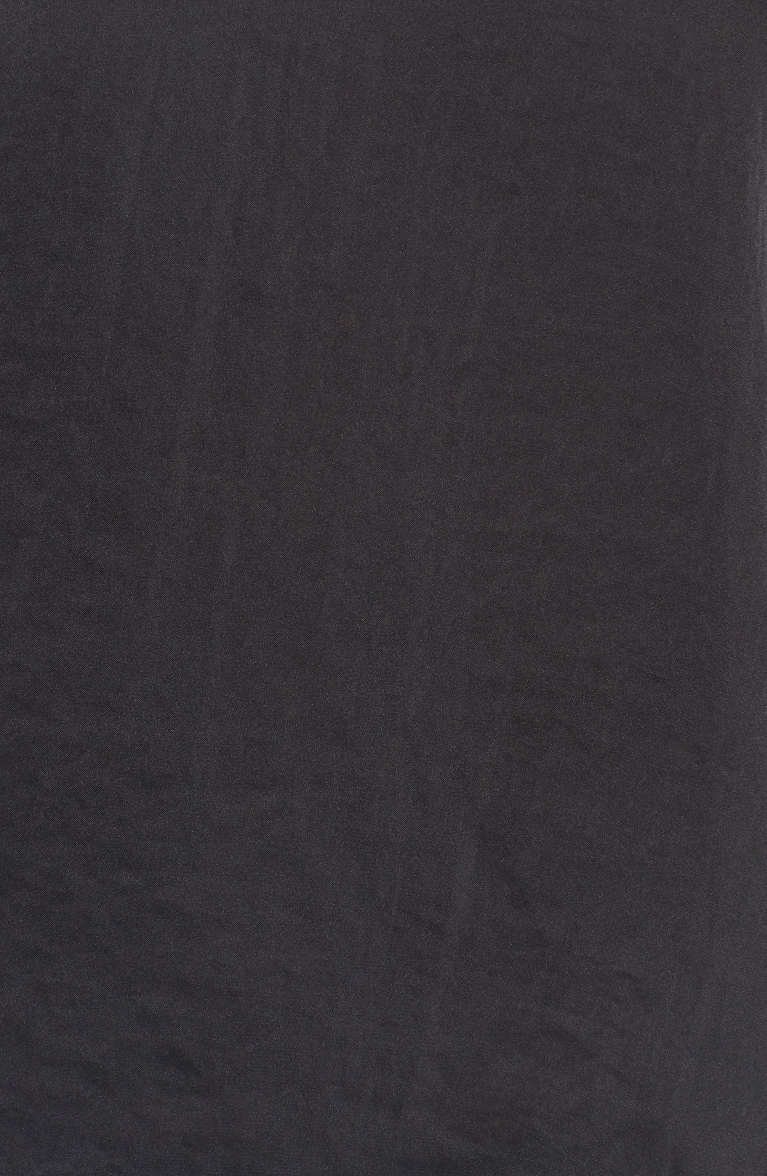 Drape Ruffle Camisole,                             Alternate thumbnail 5, color,                             001