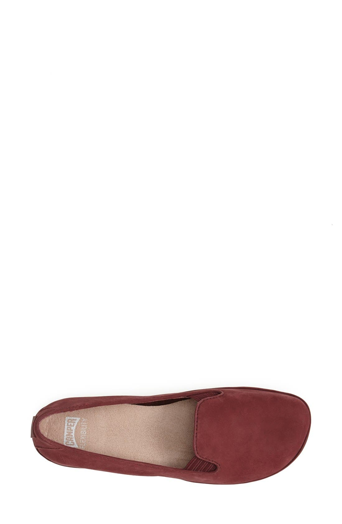 'Right Nina' Leather Flat,                             Alternate thumbnail 17, color,