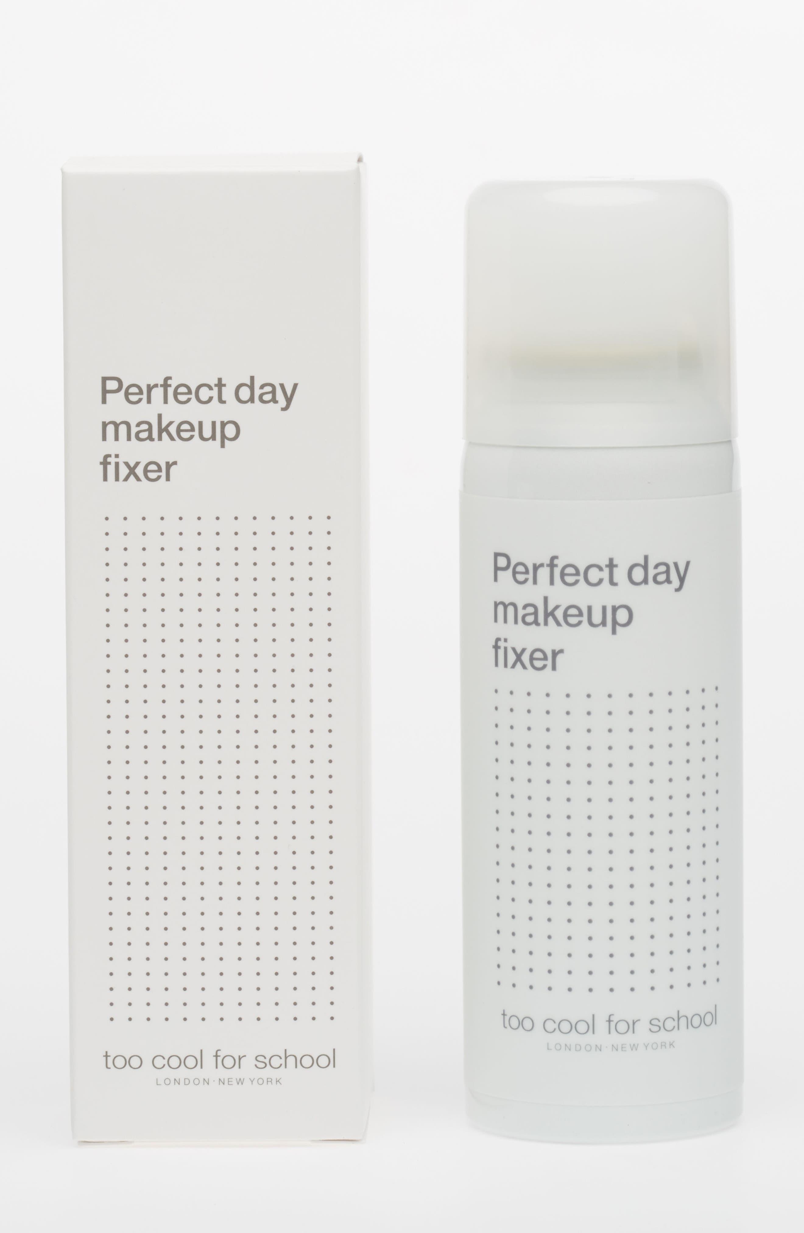 Perfect Day Makeup Fixer Spray Facial Mist,                             Alternate thumbnail 4, color,                             960