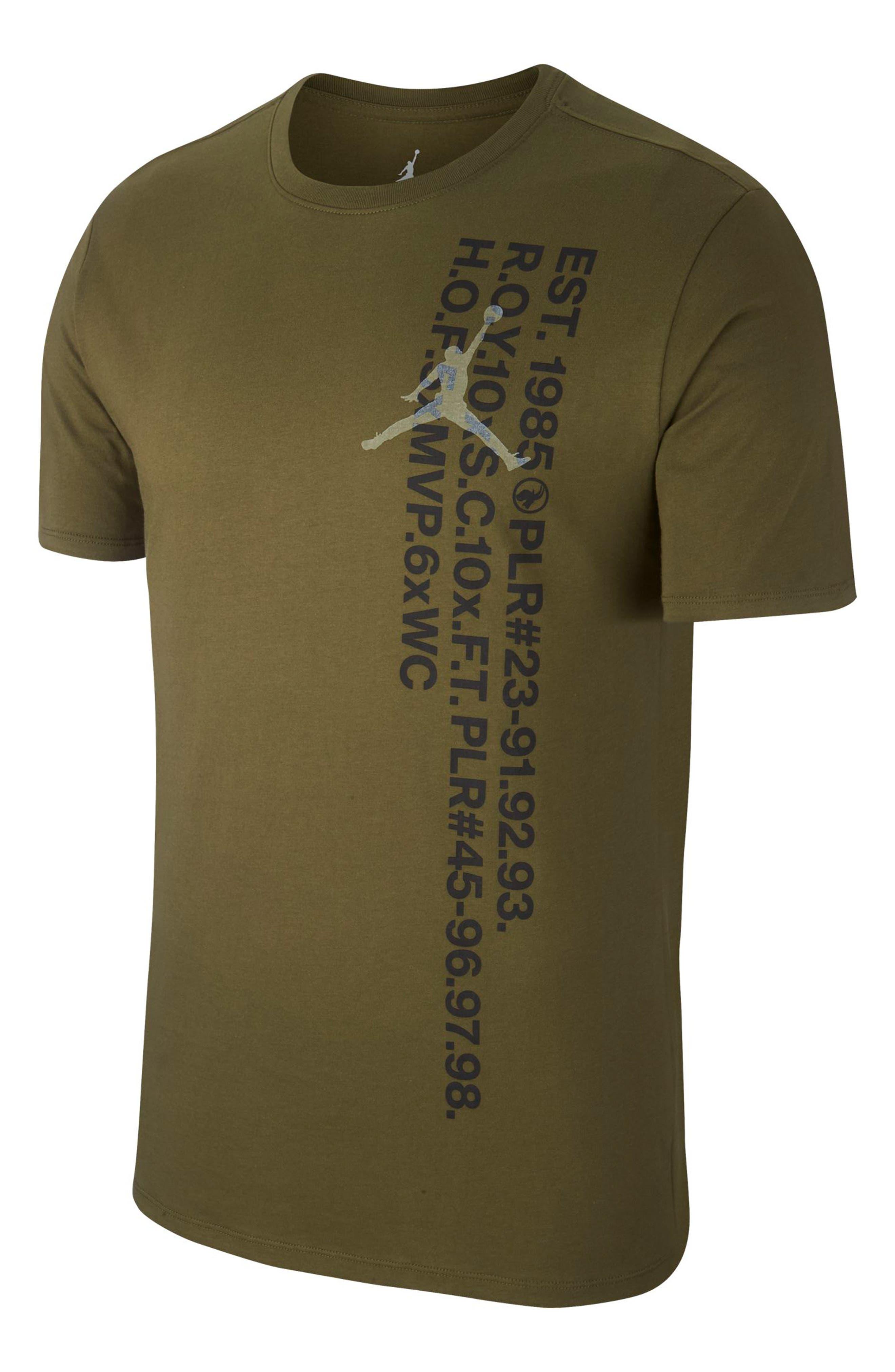 Jordan Sportswear Greatest Graphic T-Shirt, Green