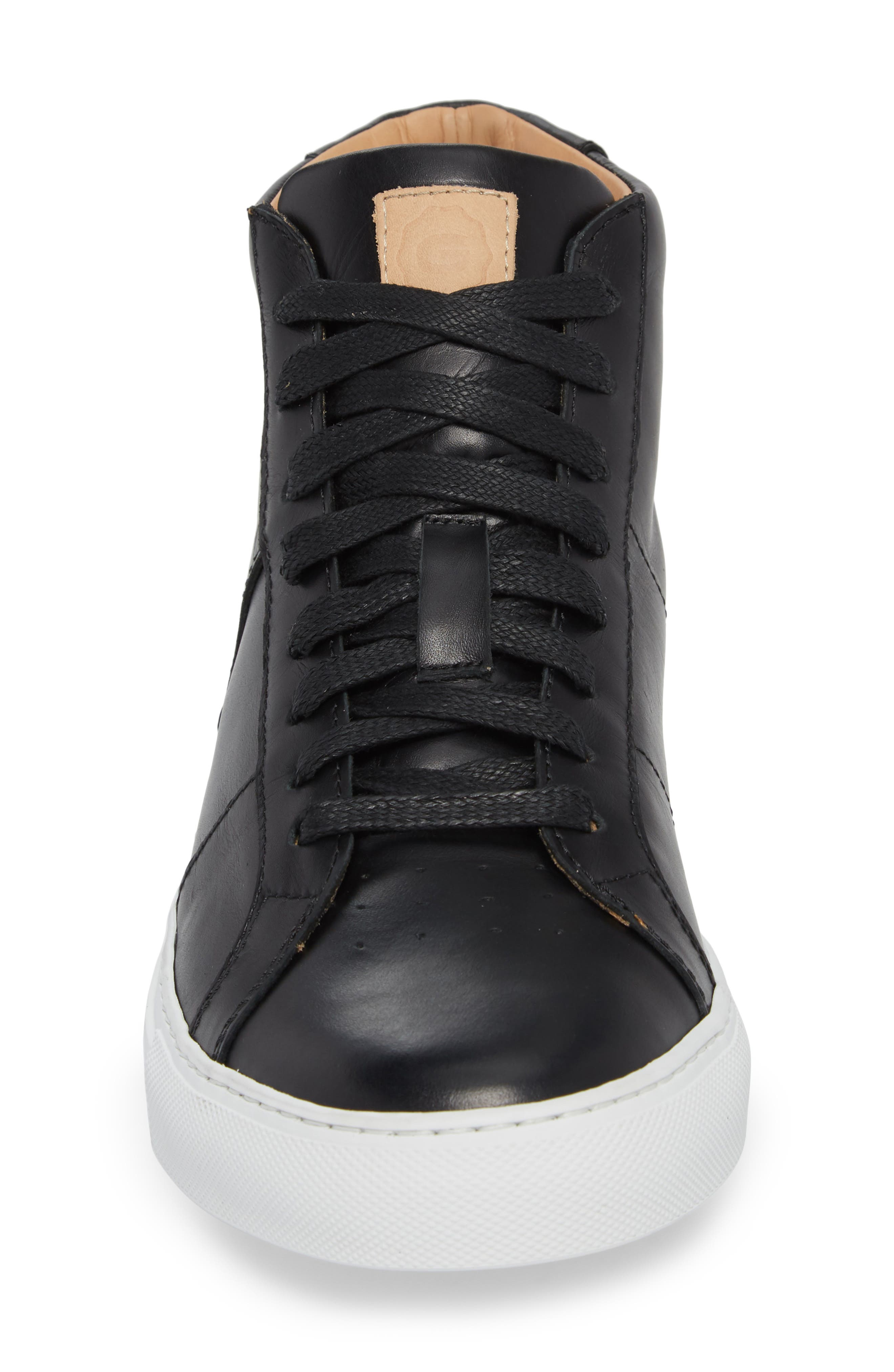 Royale High Top Sneaker,                             Alternate thumbnail 4, color,                             001