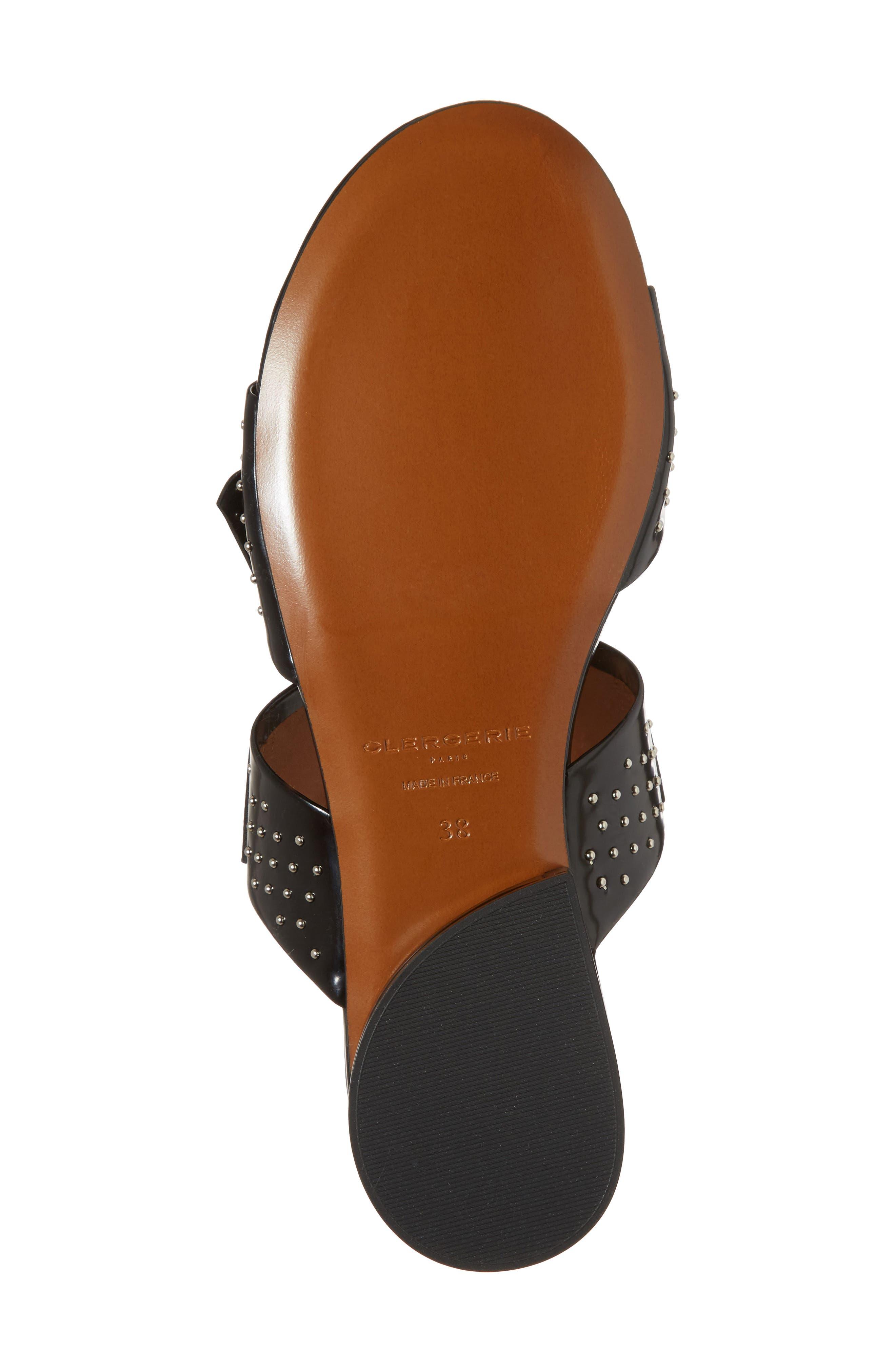 Figlouc Studded Sandal,                             Alternate thumbnail 6, color,                             001