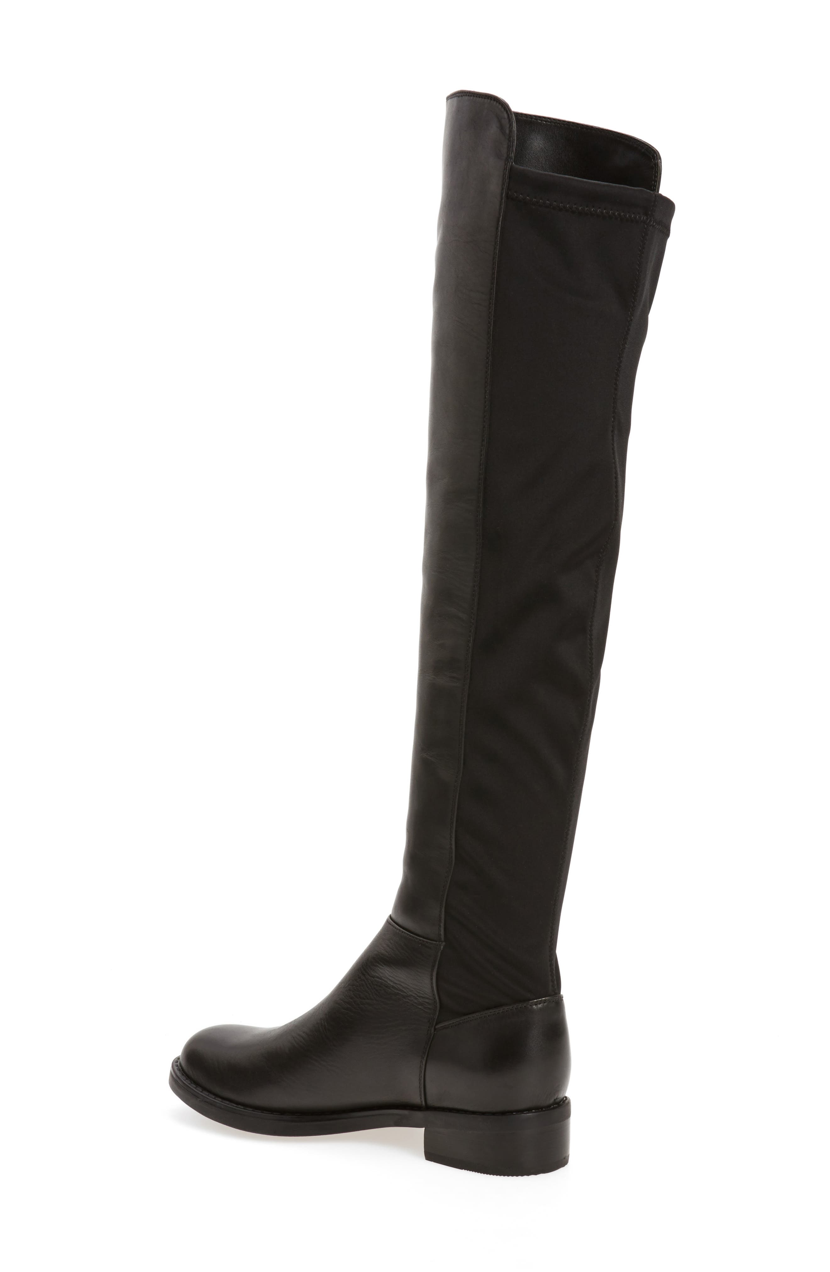 Olivia Knee High Boot,                             Alternate thumbnail 2, color,                             001
