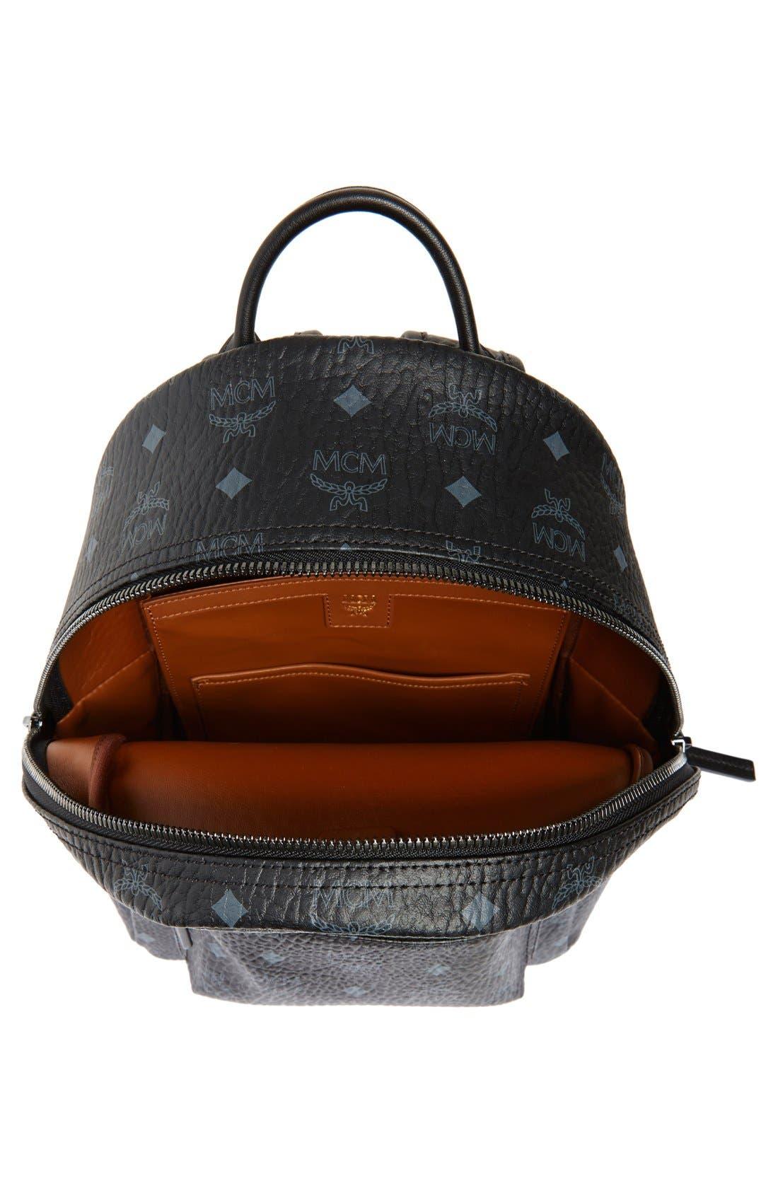 Small Stark Side Stud Backpack,                             Alternate thumbnail 3, color,                             001