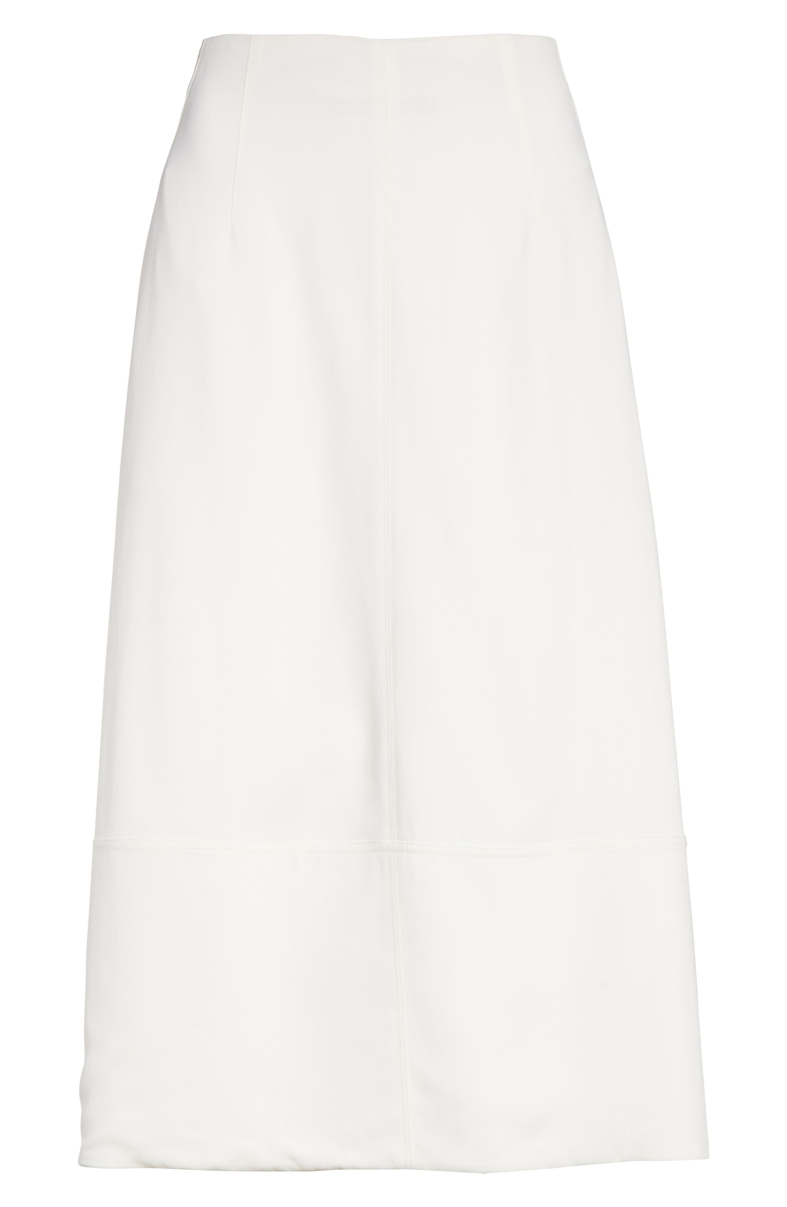 Lottie A-Line Midi Skirt,                             Alternate thumbnail 6, color,                             903