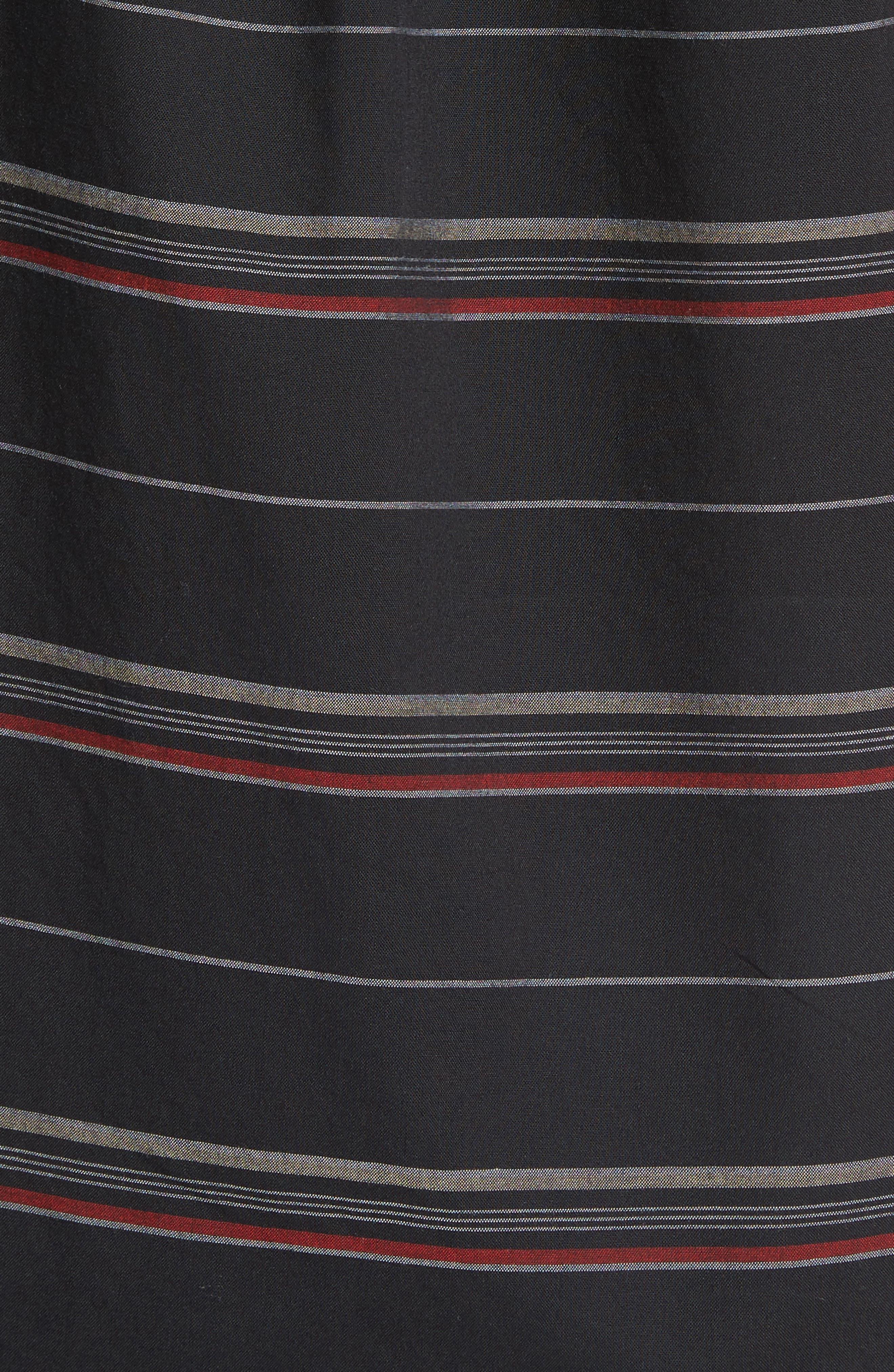 Striped Woven Shirt,                             Alternate thumbnail 14, color,