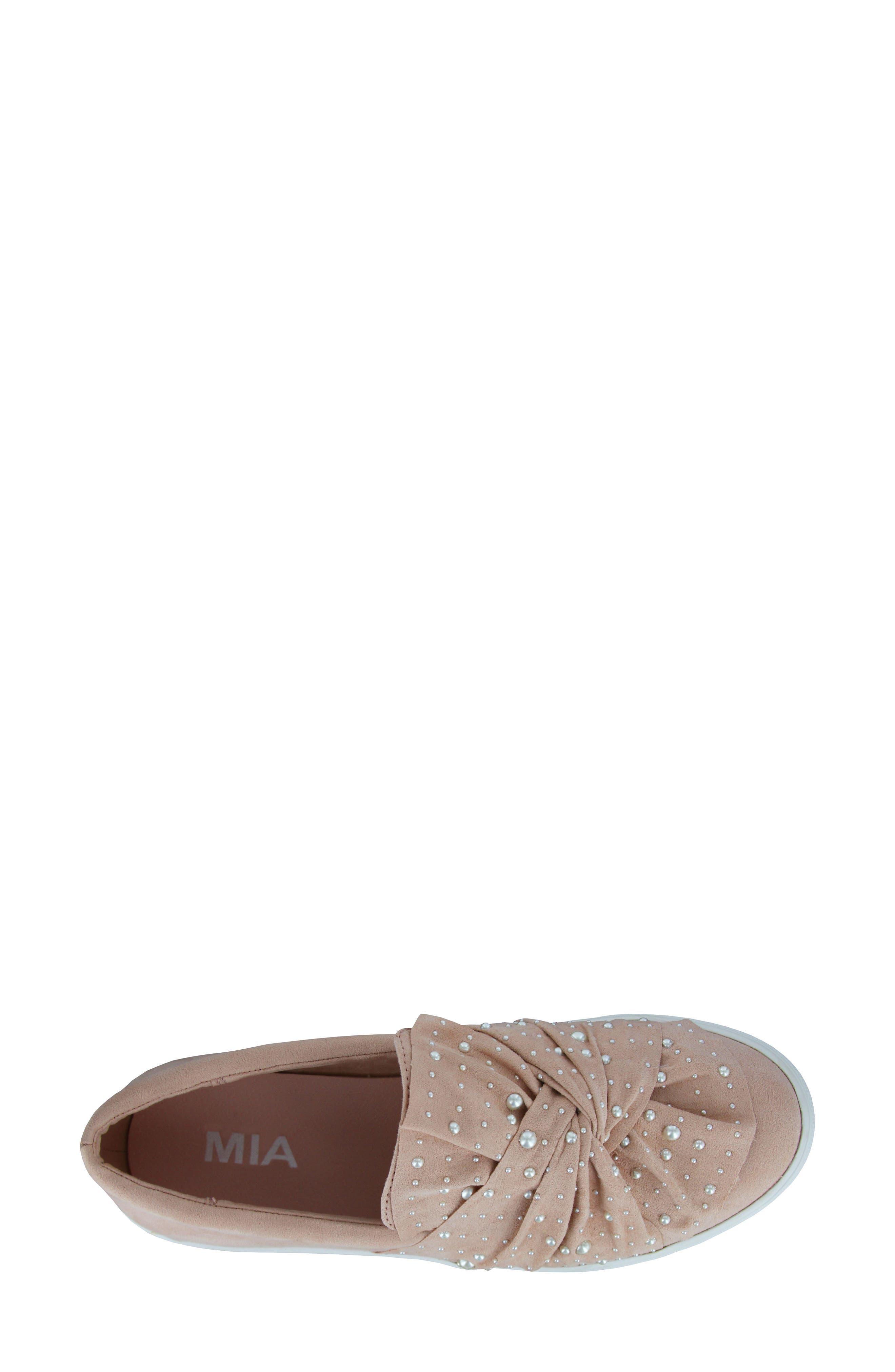 Aretha Embellished Slip-On Sneaker,                             Alternate thumbnail 6, color,