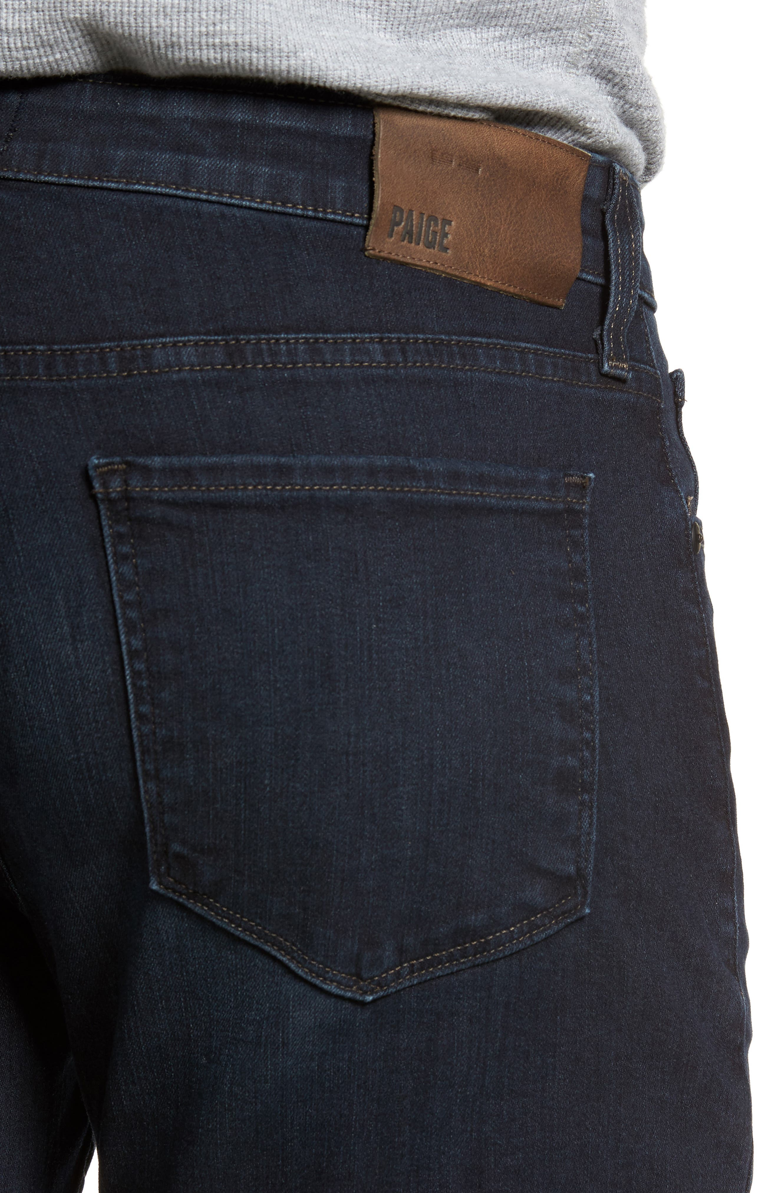 Doheny Relaxed Straight Leg Jeans,                             Alternate thumbnail 4, color,                             400