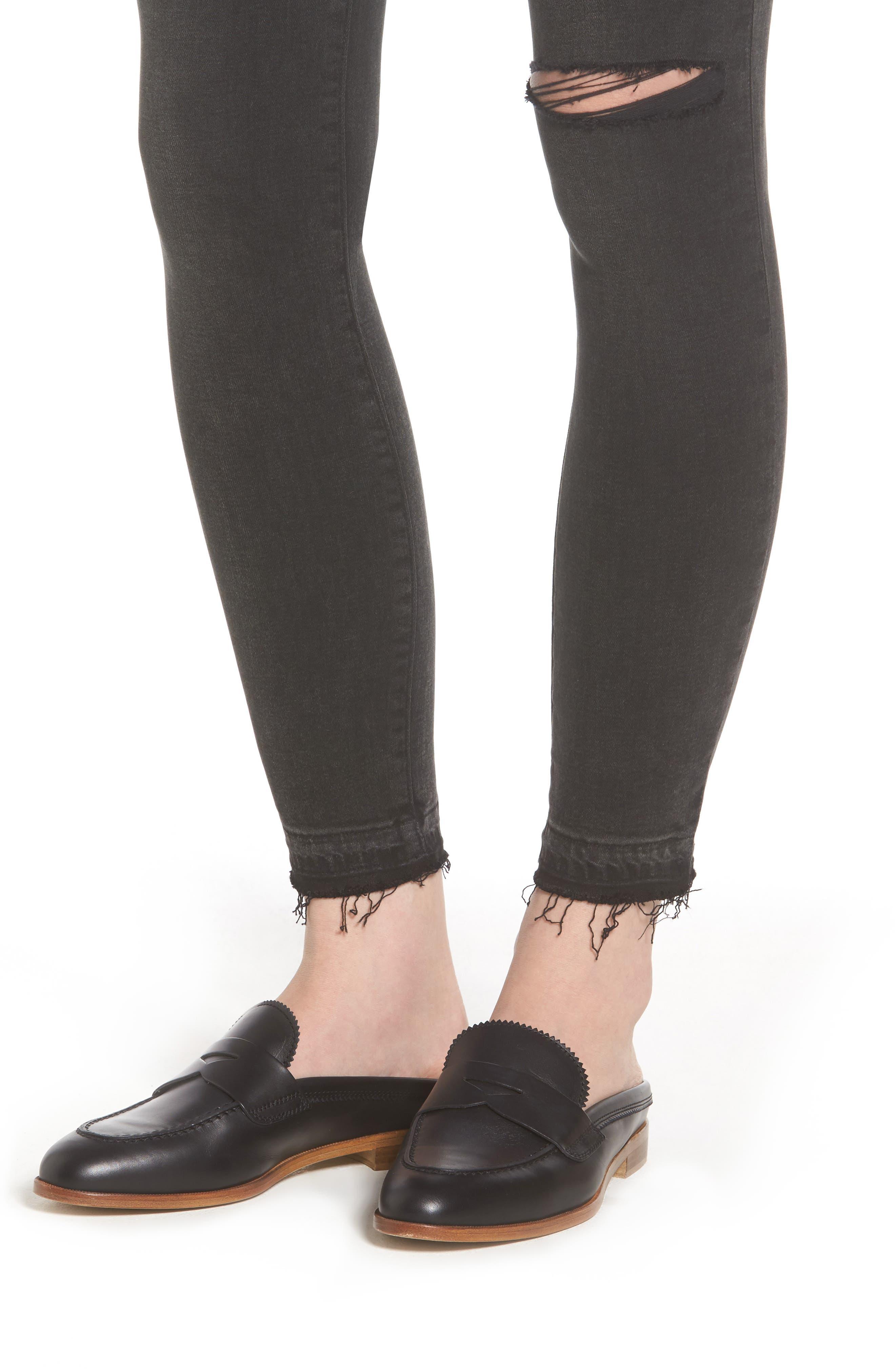 Margaux Instasculpt Ankle Skinny Jeans,                             Alternate thumbnail 4, color,
