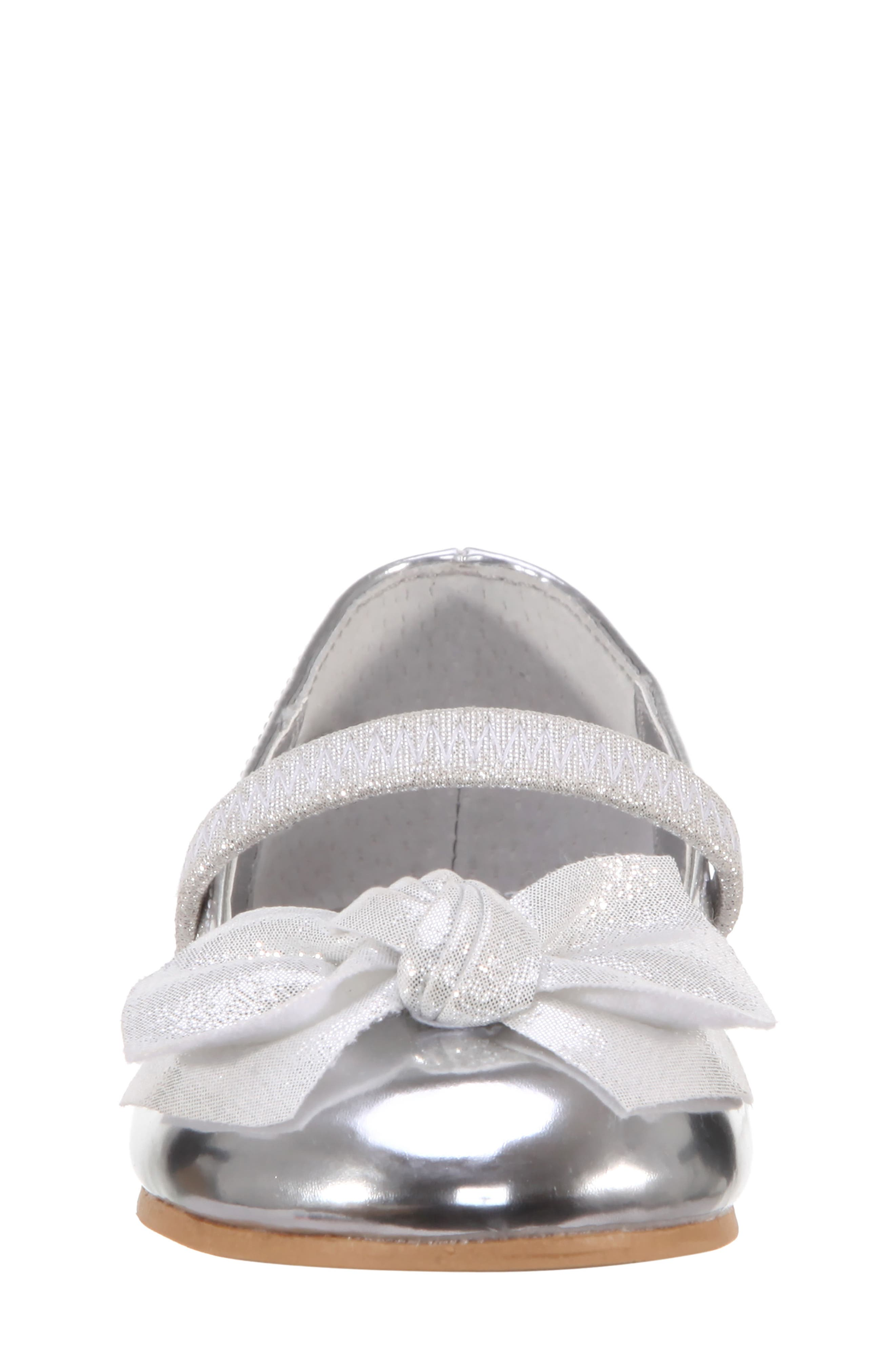 Kaytelyn-T Glitter Bow Ballet Flat,                             Alternate thumbnail 22, color,