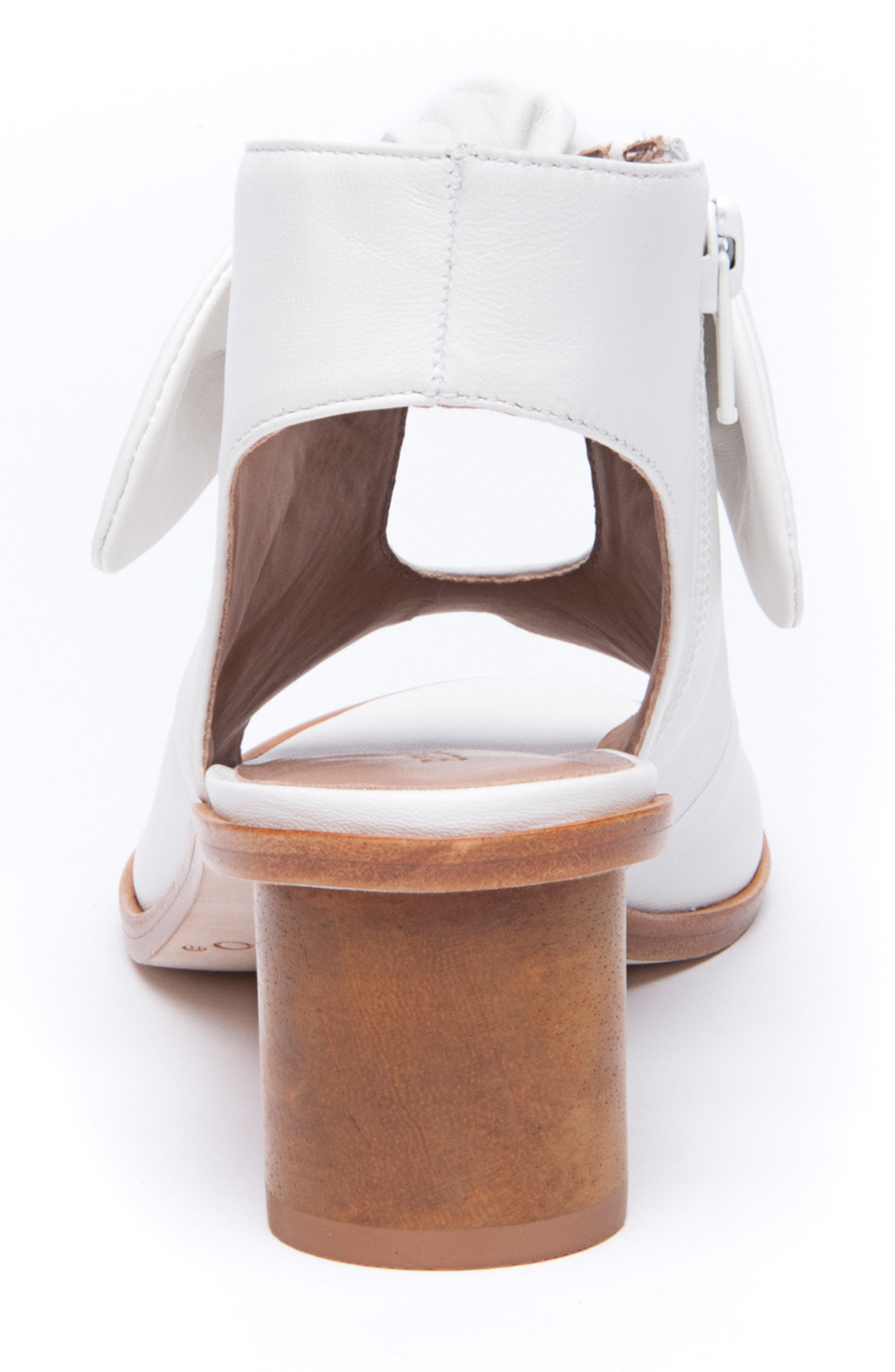 Bernardo Luna Sandal,                             Alternate thumbnail 7, color,                             WHITE LEATHER