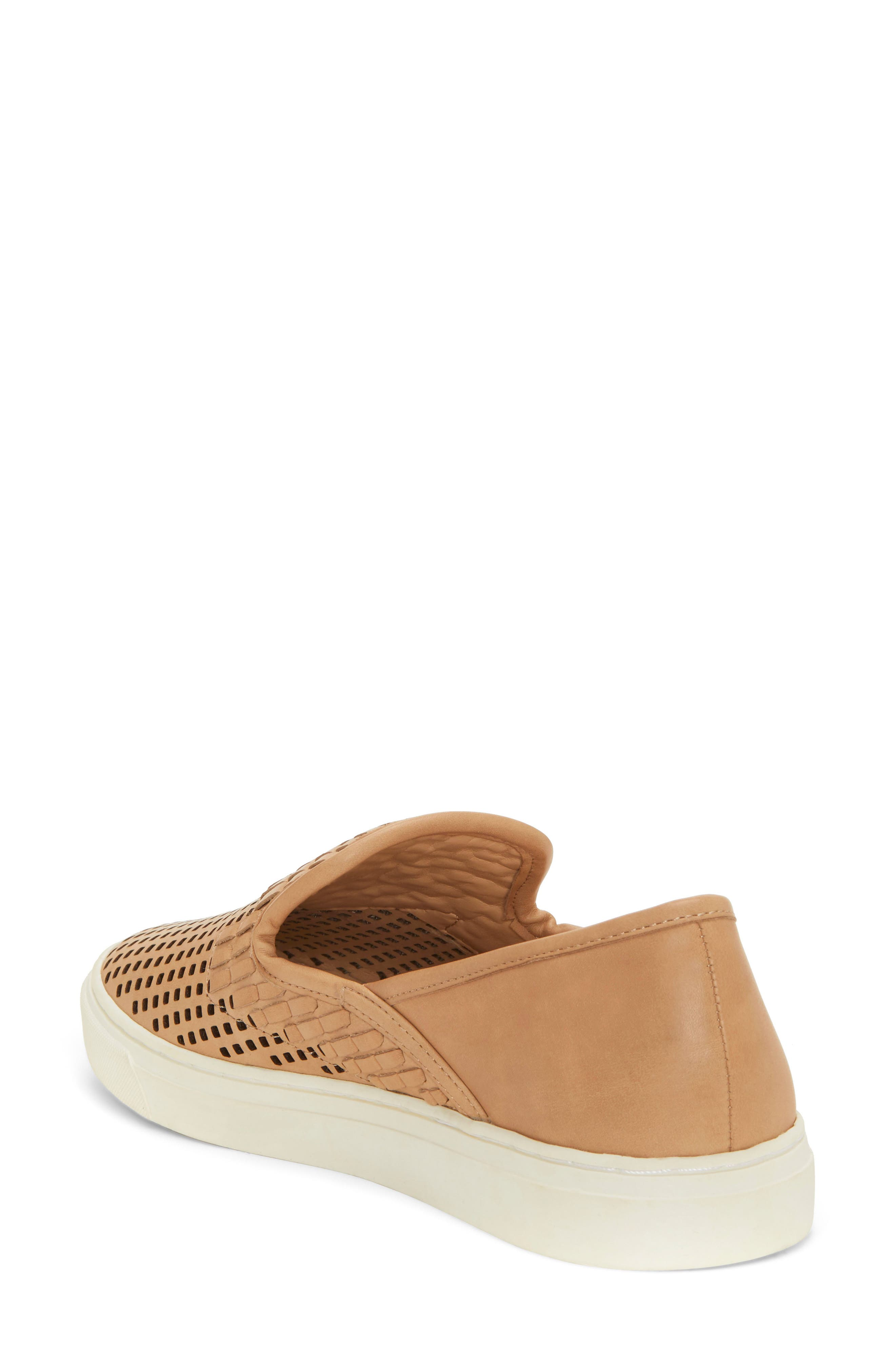 VINCE CAMUTO,                             Bristie Sneaker,                             Alternate thumbnail 2, color,                             NATURAL LEATHER