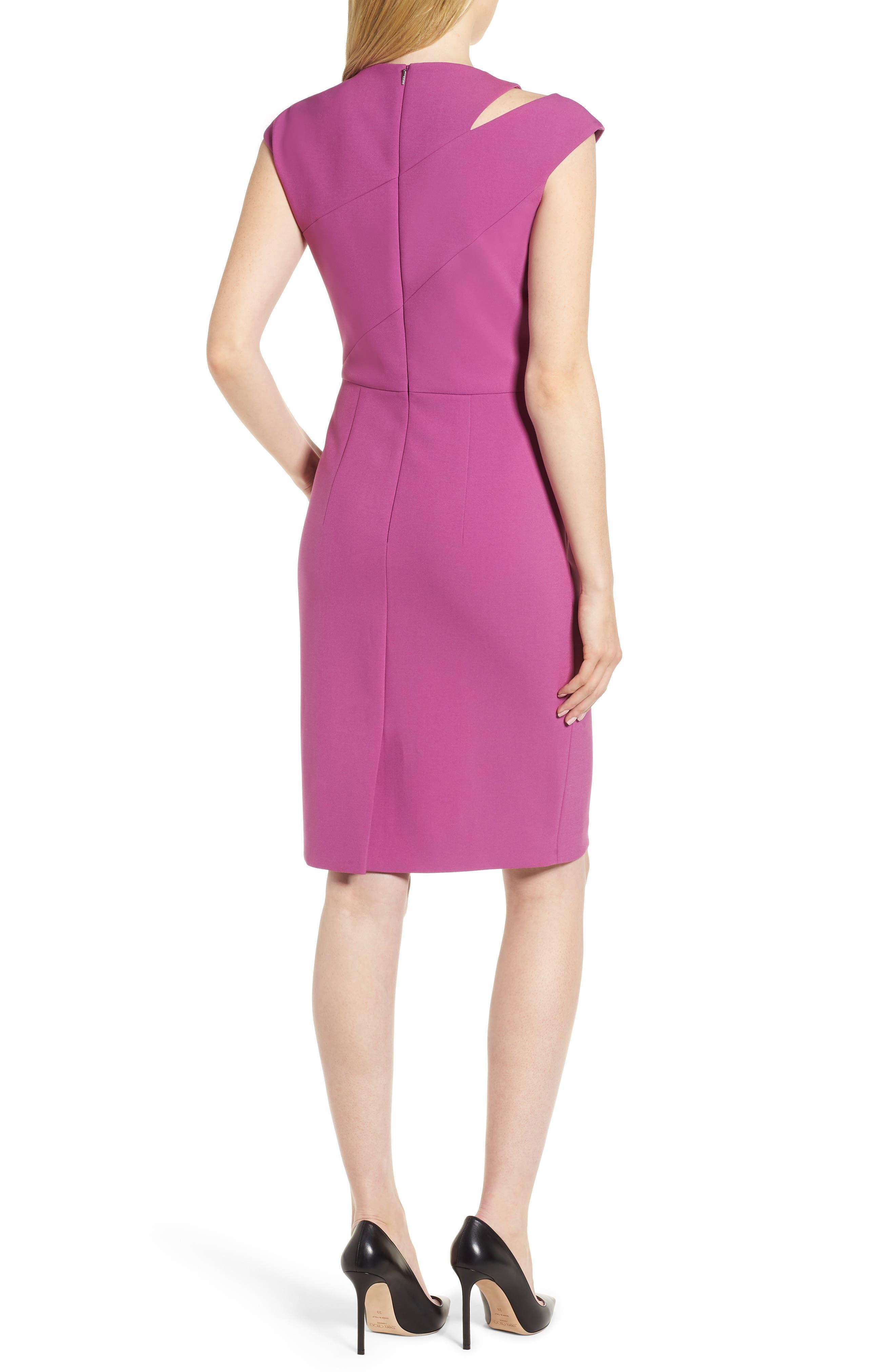 Danouk Ponte Sheath Dress,                             Alternate thumbnail 2, color,                             511