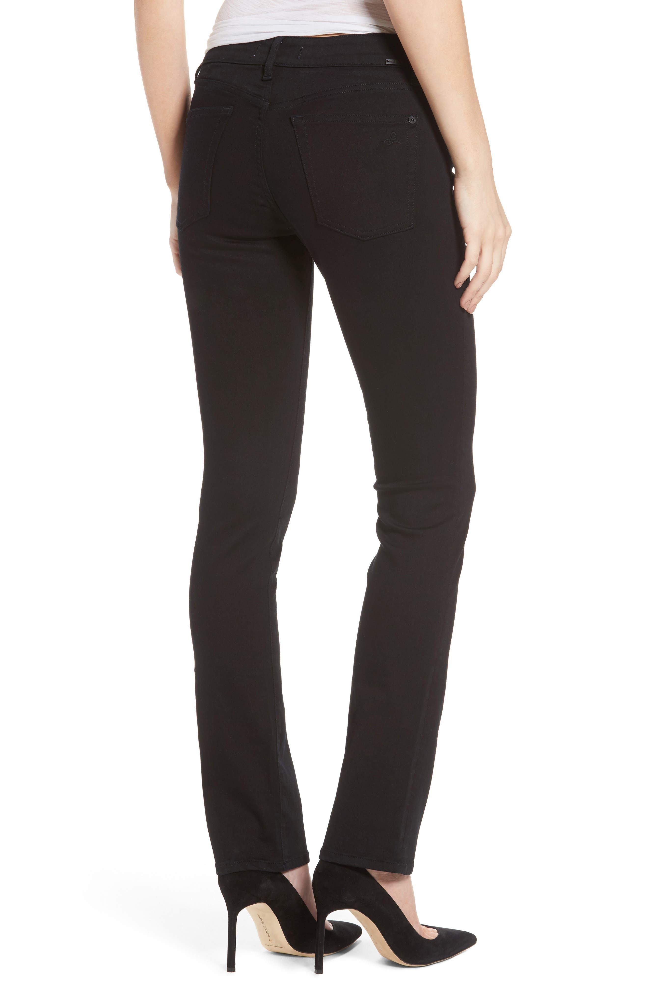 Mara Ankle Straight Leg Jeans,                             Alternate thumbnail 4, color,