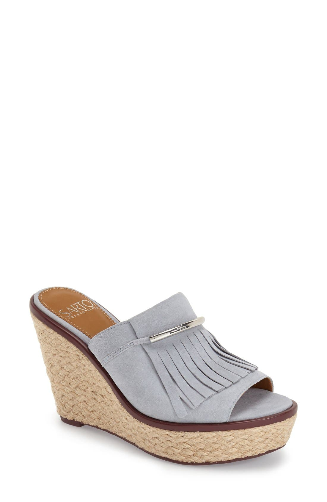 'Candace' Wedge Mule,                             Main thumbnail 3, color,